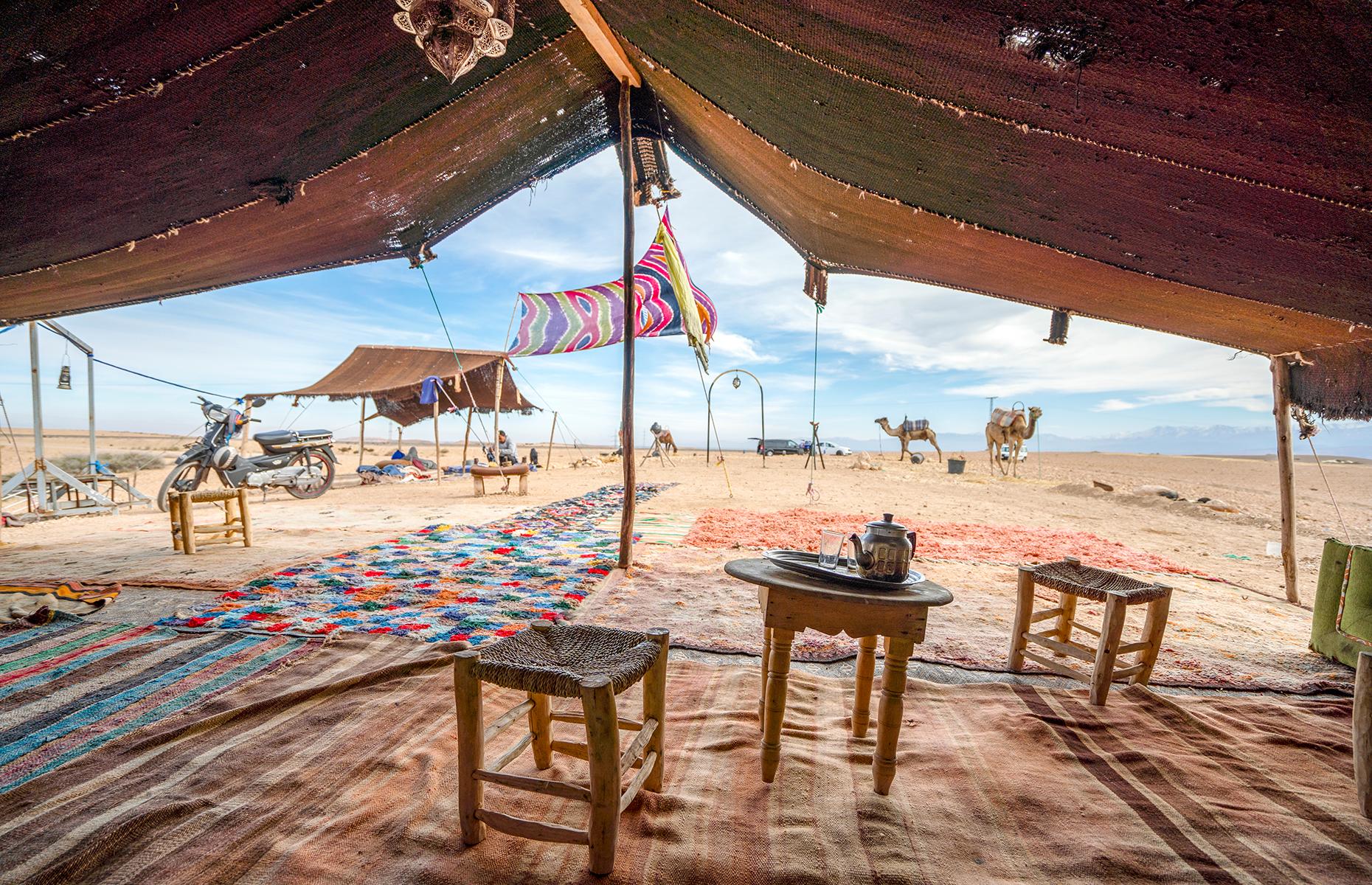 Bedouin camp in Agafay Desert (Image: Sopotnicki/Shutterstock)