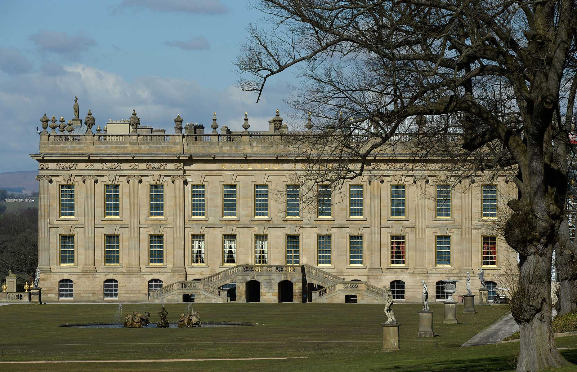 Chatsworth House (Image: OLI SCARFF/AFP via Getty Images)