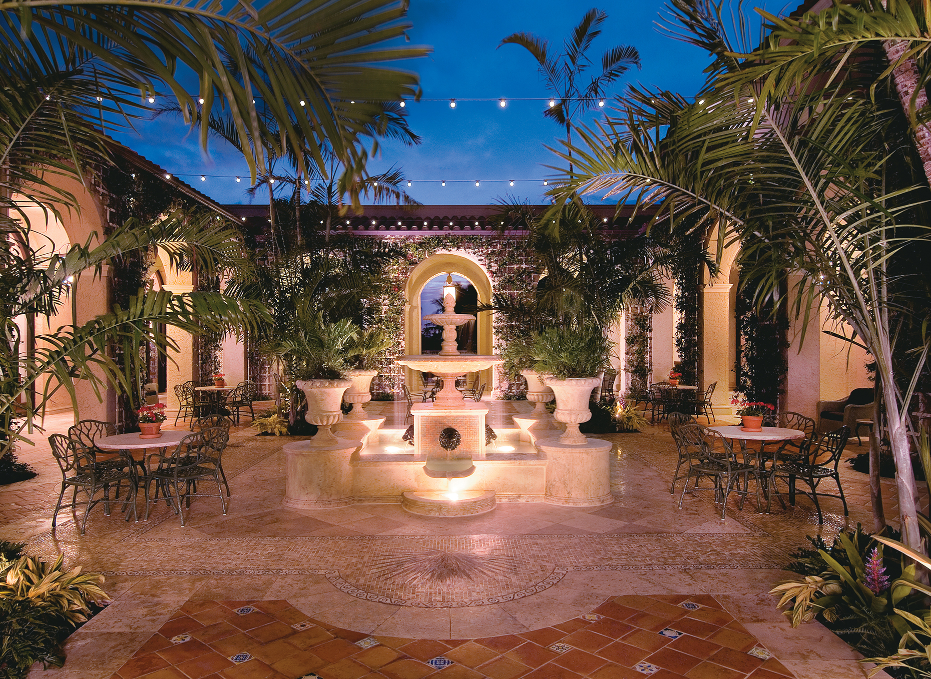 Courtyard at The Breakers (Image: The Breakers)