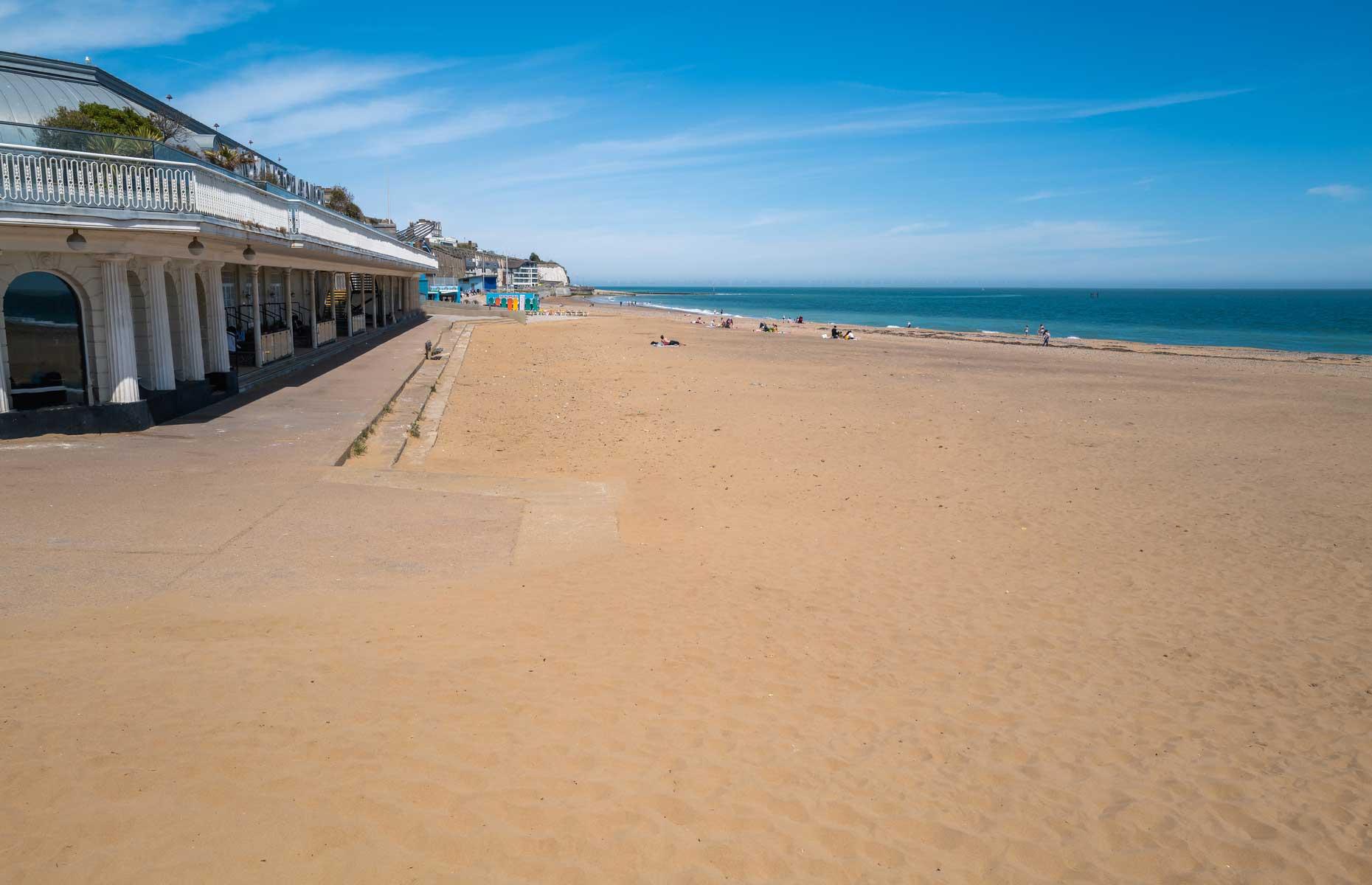 Ramsgate beach (Image: Christine Bird/Shutterstock)