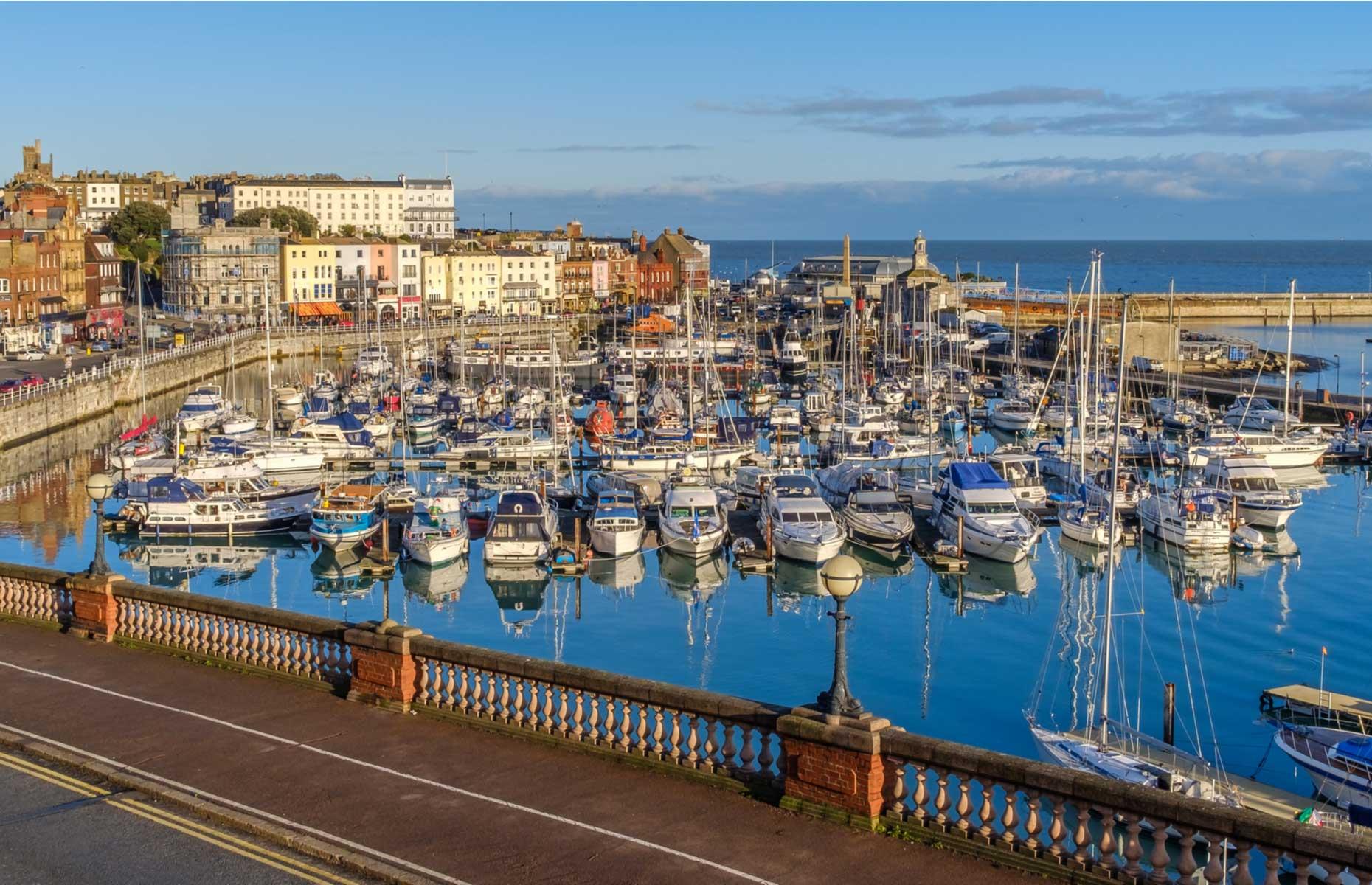Ramsgate marina (Image: Christine Bird/Shutterstock)