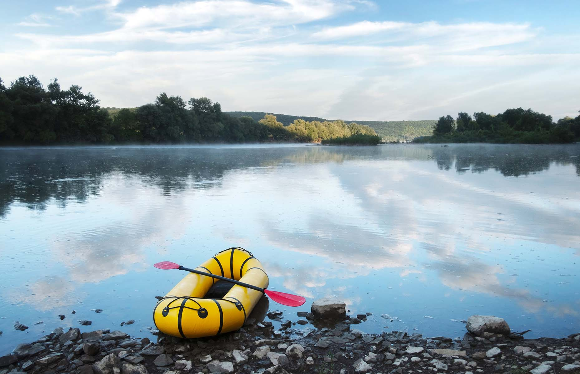 Go on a packrafting journey (Image: Smit/Shutterstock)