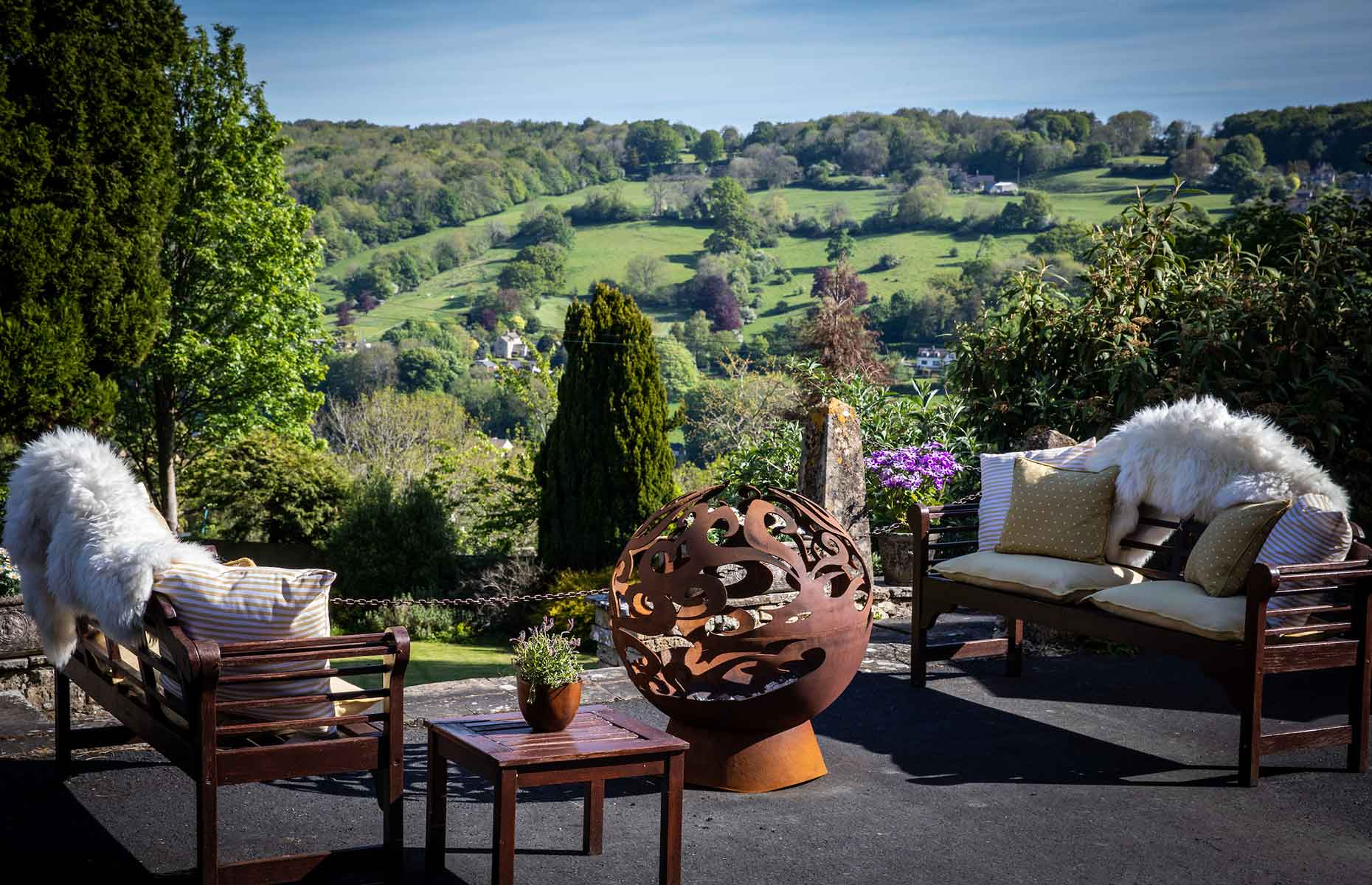 View from Burleigh Court (Image: Burleigh Court Photography)