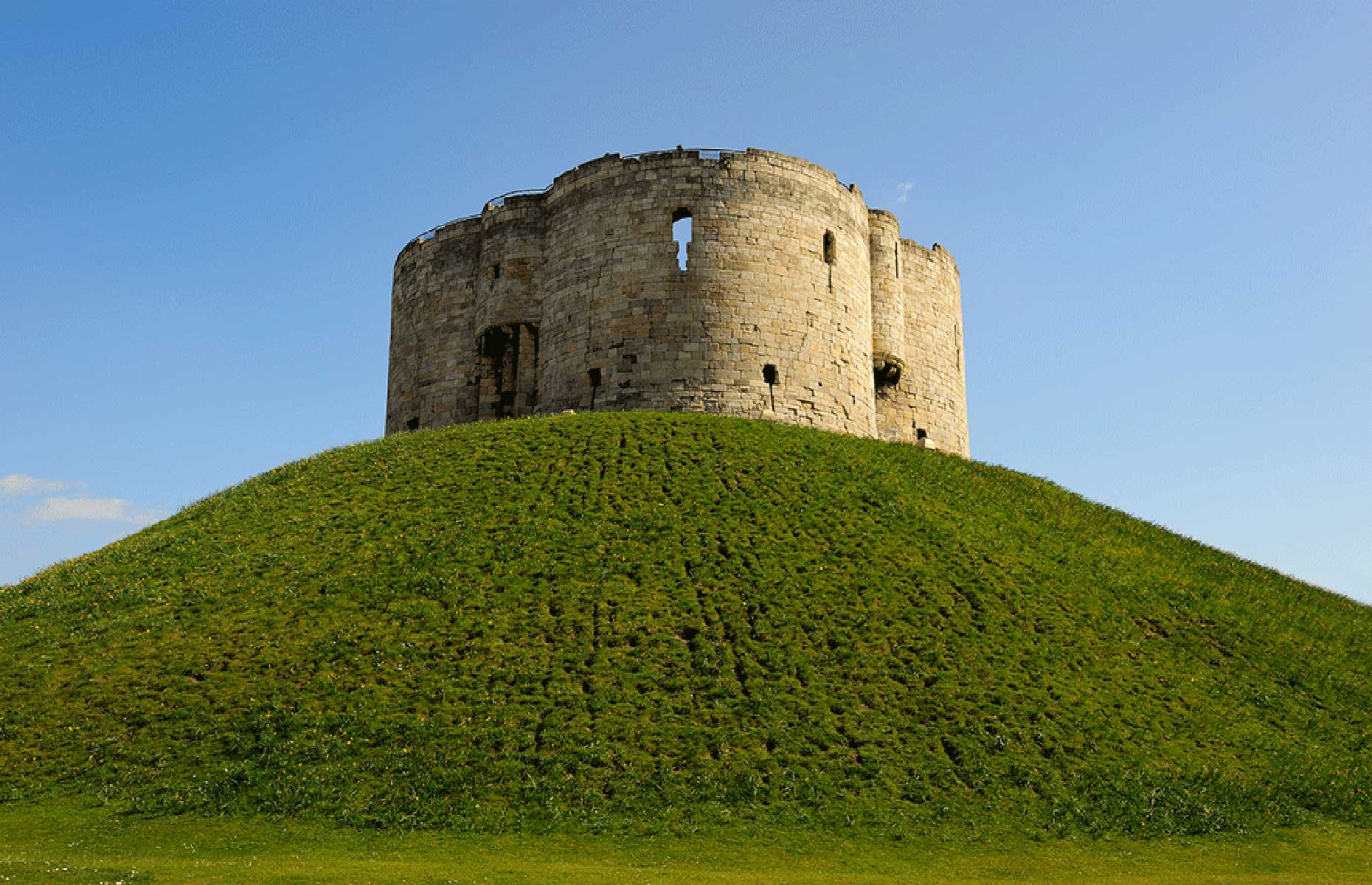 Clifford's Tower (Image: English Heritage)