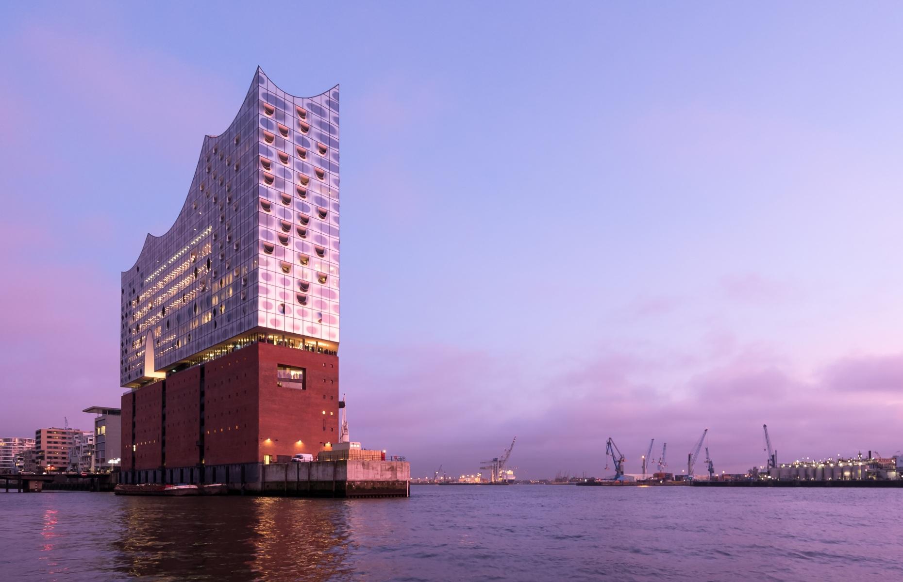 Elbphilharmonie, Hamburg, Germany (Credit: Bjoern Wylezich/Shutterstock)