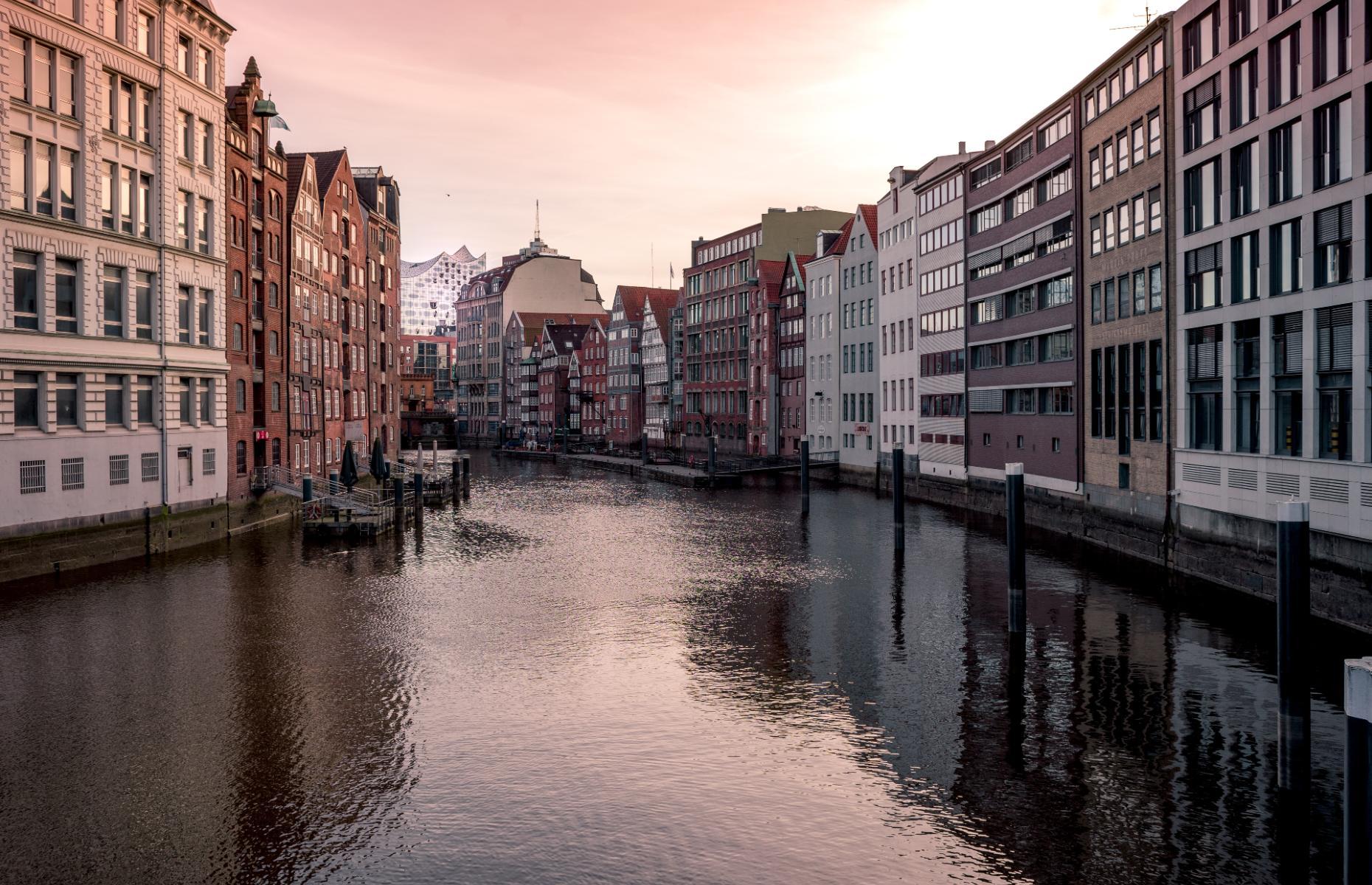 Speicherstadt, Hamburg. Germany (Credit: Adrian Degner/Unsplash)