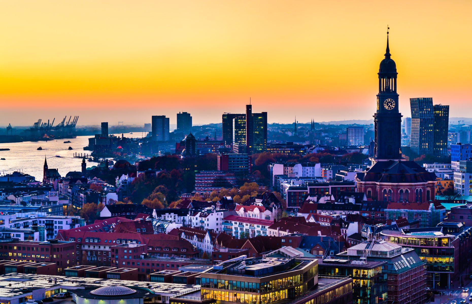 St. Michaelis Church, Hamburg, Germany (Credit: foto-select/Shutterstock)