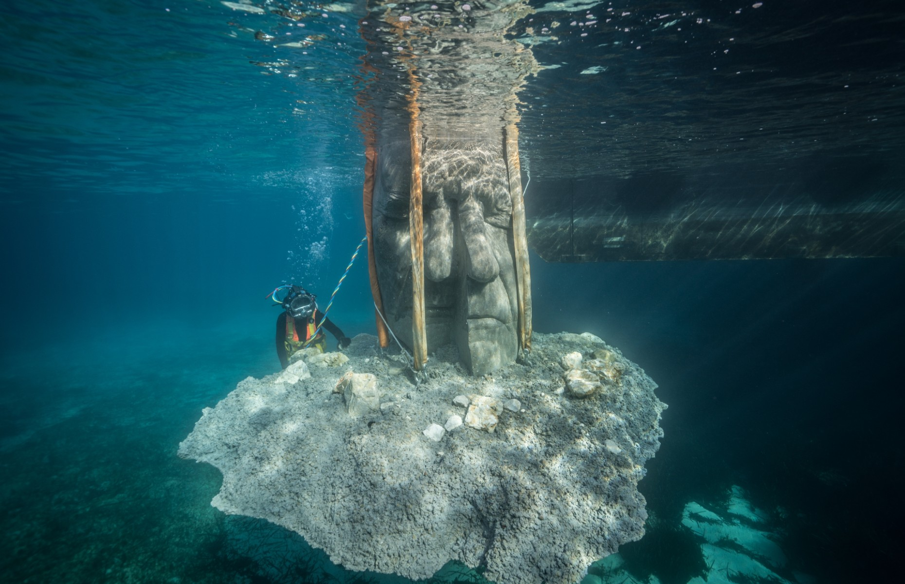 Image: Jason deCaires Taylor/Underwater Museum of Cannes