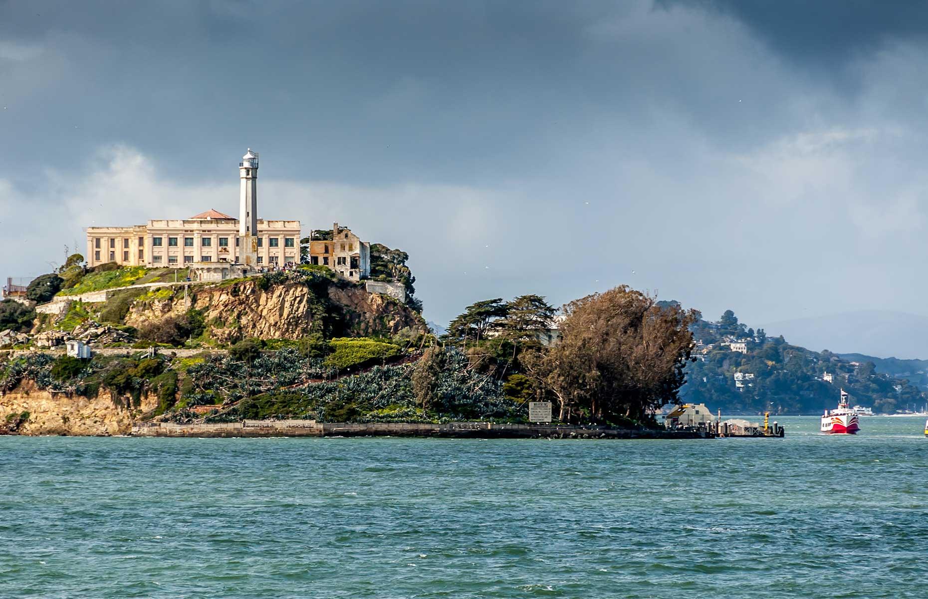 Alcatraz Island (Image: Jeff Whyte/Shutterstock)