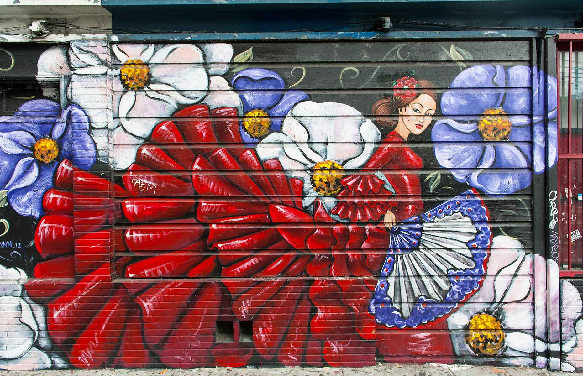 Mission District mural (Image: Julien Hautcoeur/Shutterstock)