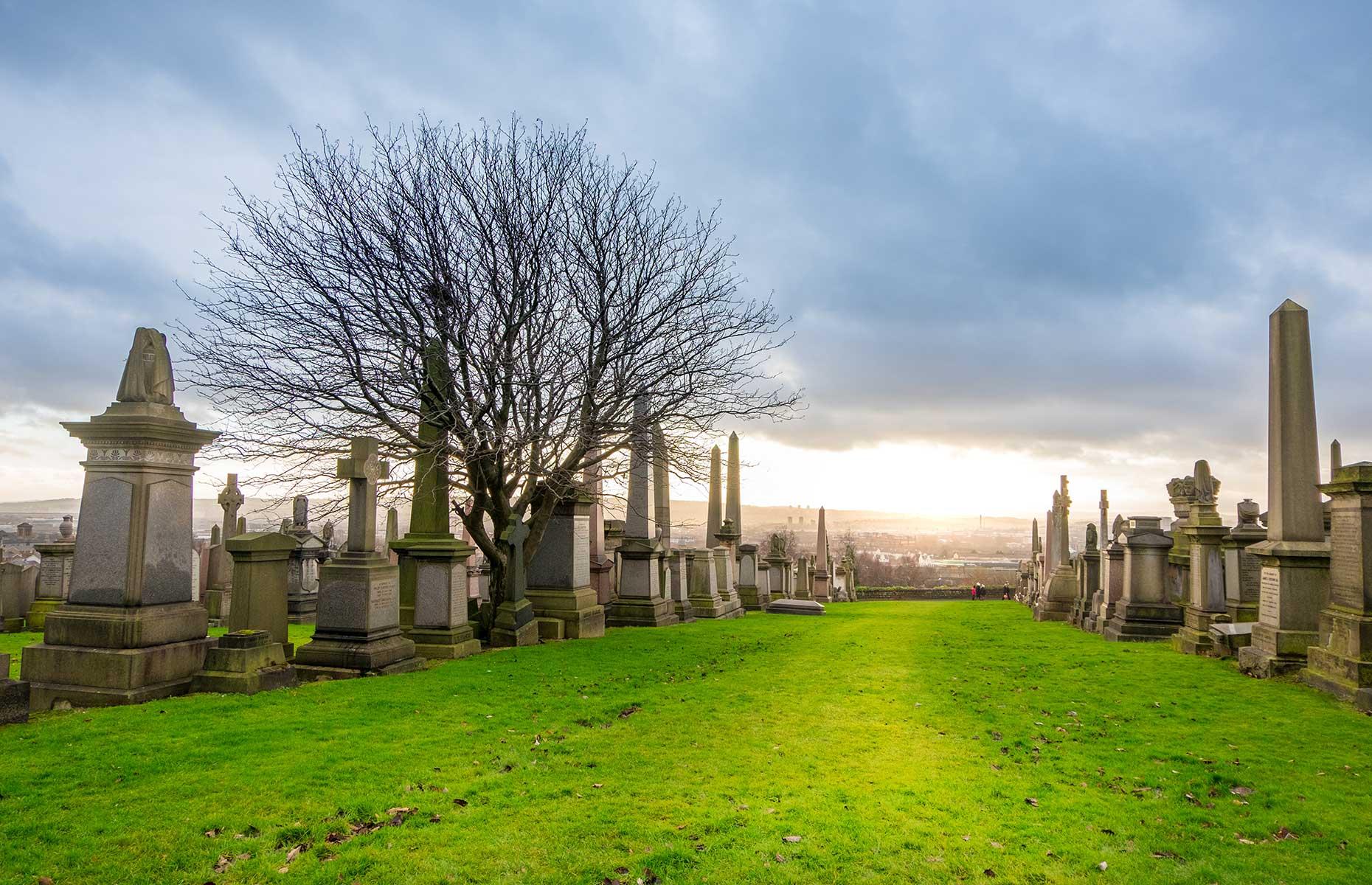 Glasgow Necropolis (Image: Moomusician/Shutterstock)