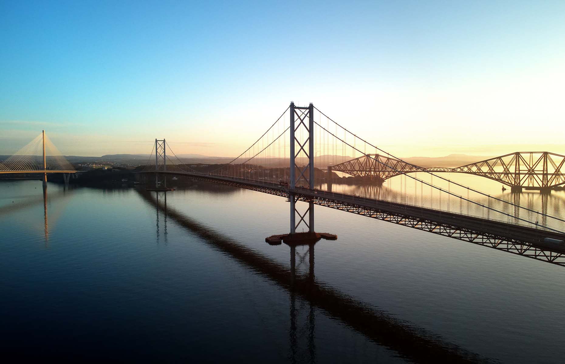 Forth Bridges in Scotland (Image: Tana888/Shutterstock)