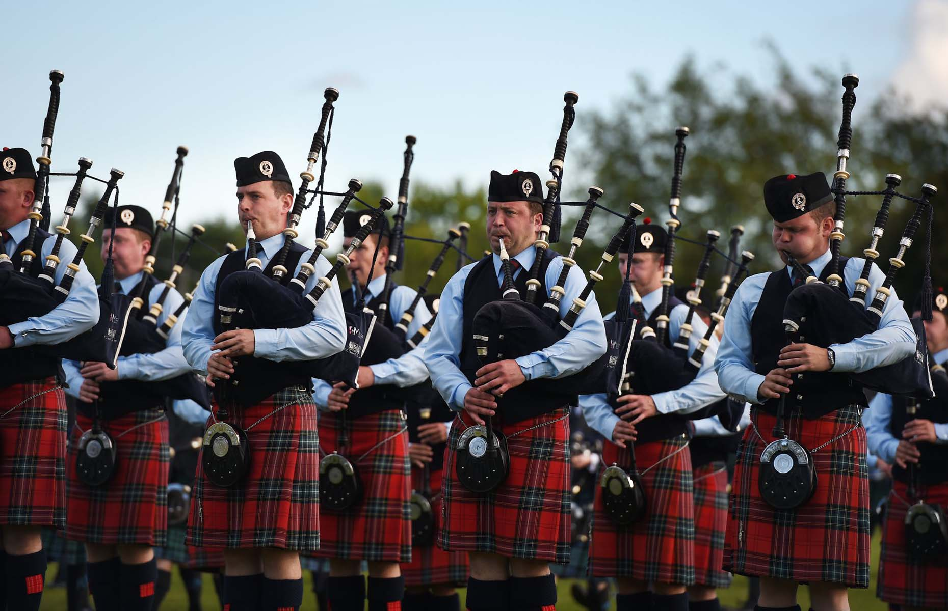 World Pipe Band Championships in Scotland (Image: World Pipe Band Championships/Facebook)