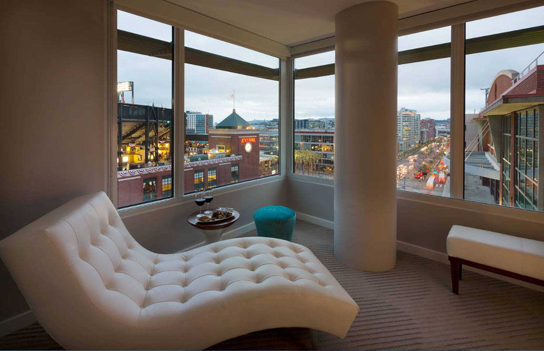 Hotel VIA room (Image: hotelviasf/Facebook)
