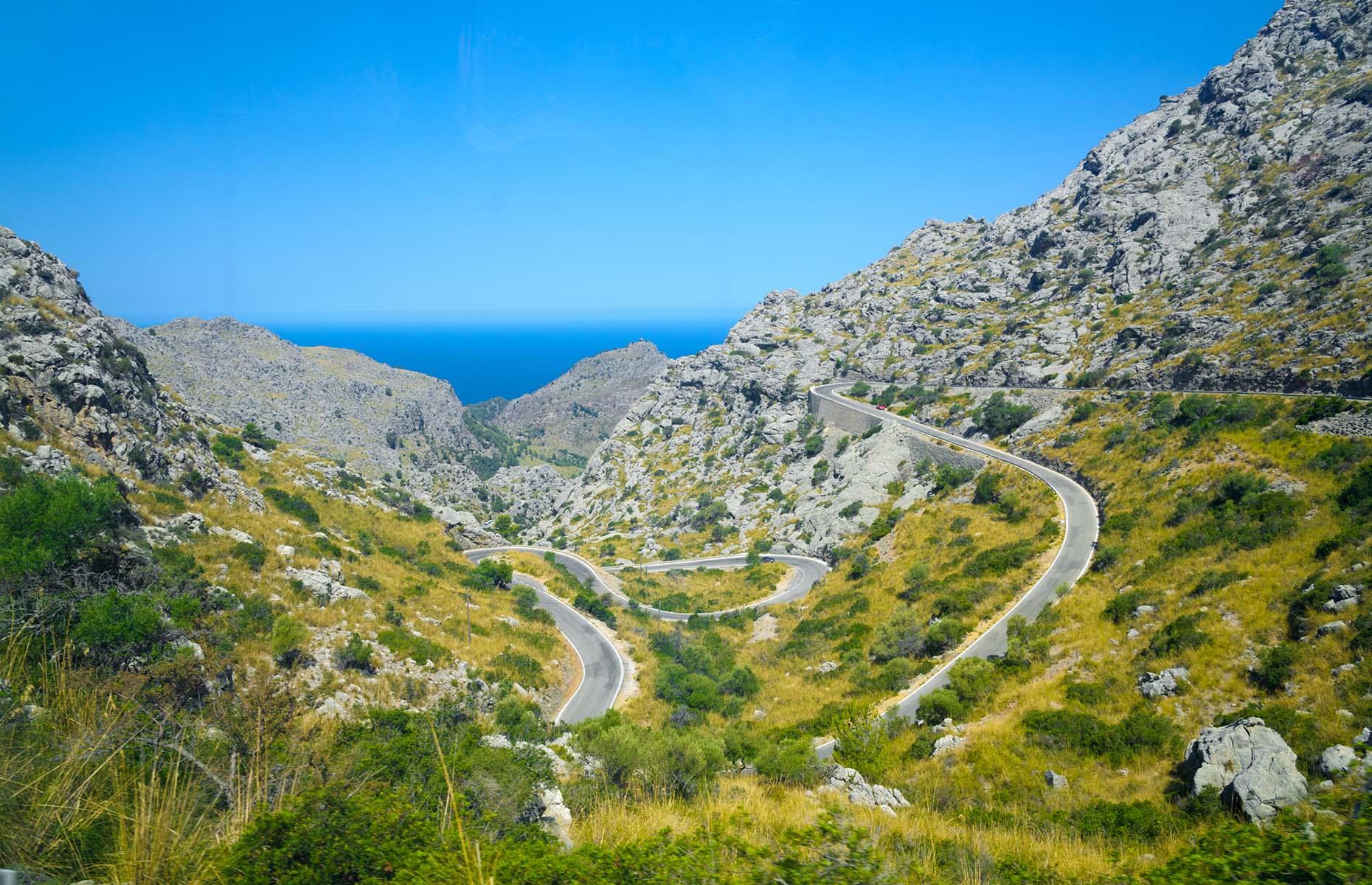 Serra de Tramuntana route MA-10 in Mallorca (Image: Andrew Buckin/Shutterstock)