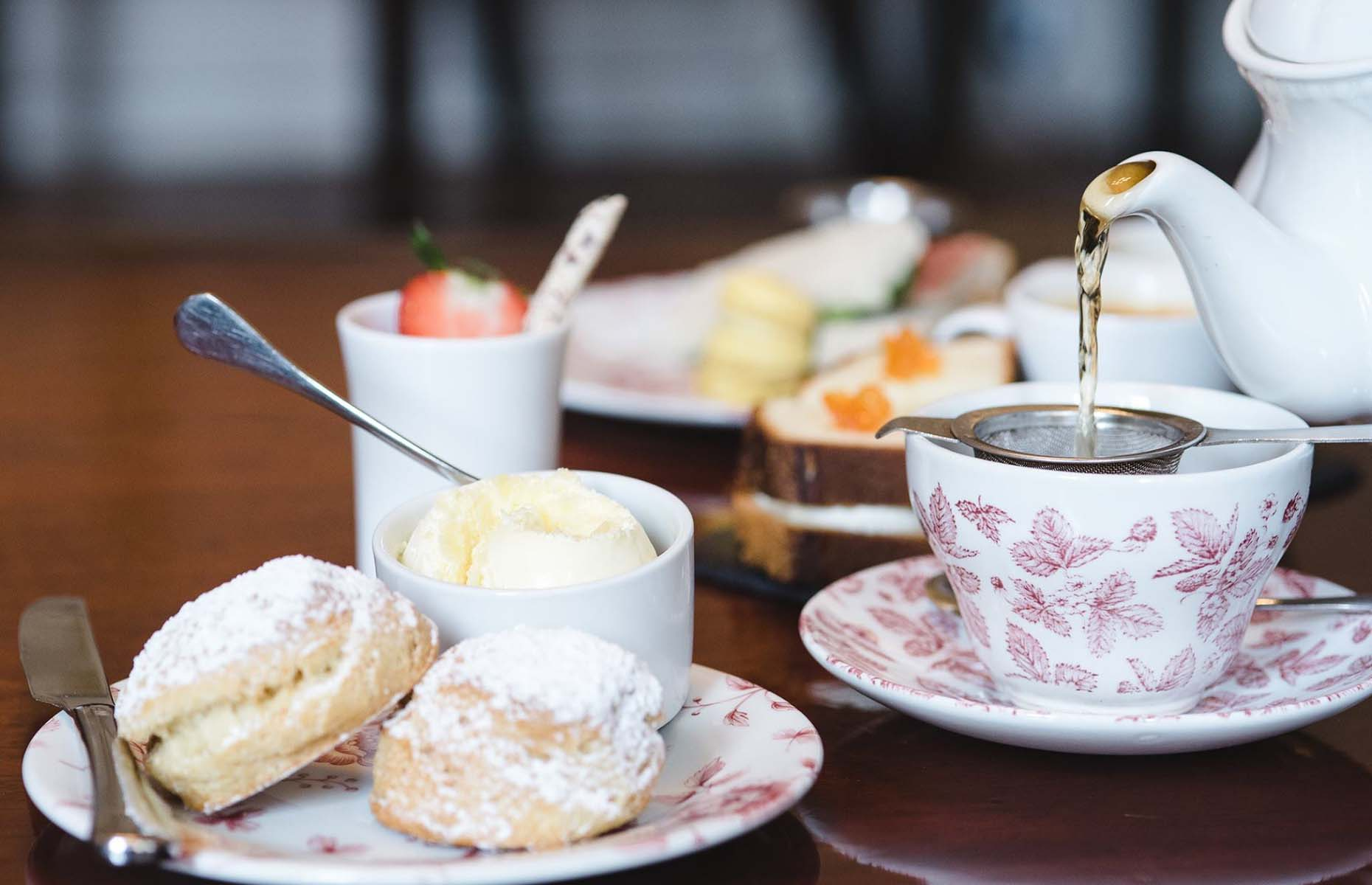 Afternoon tea at The Feathers (Image: Feathers Hotel Woodstock/Facebook)