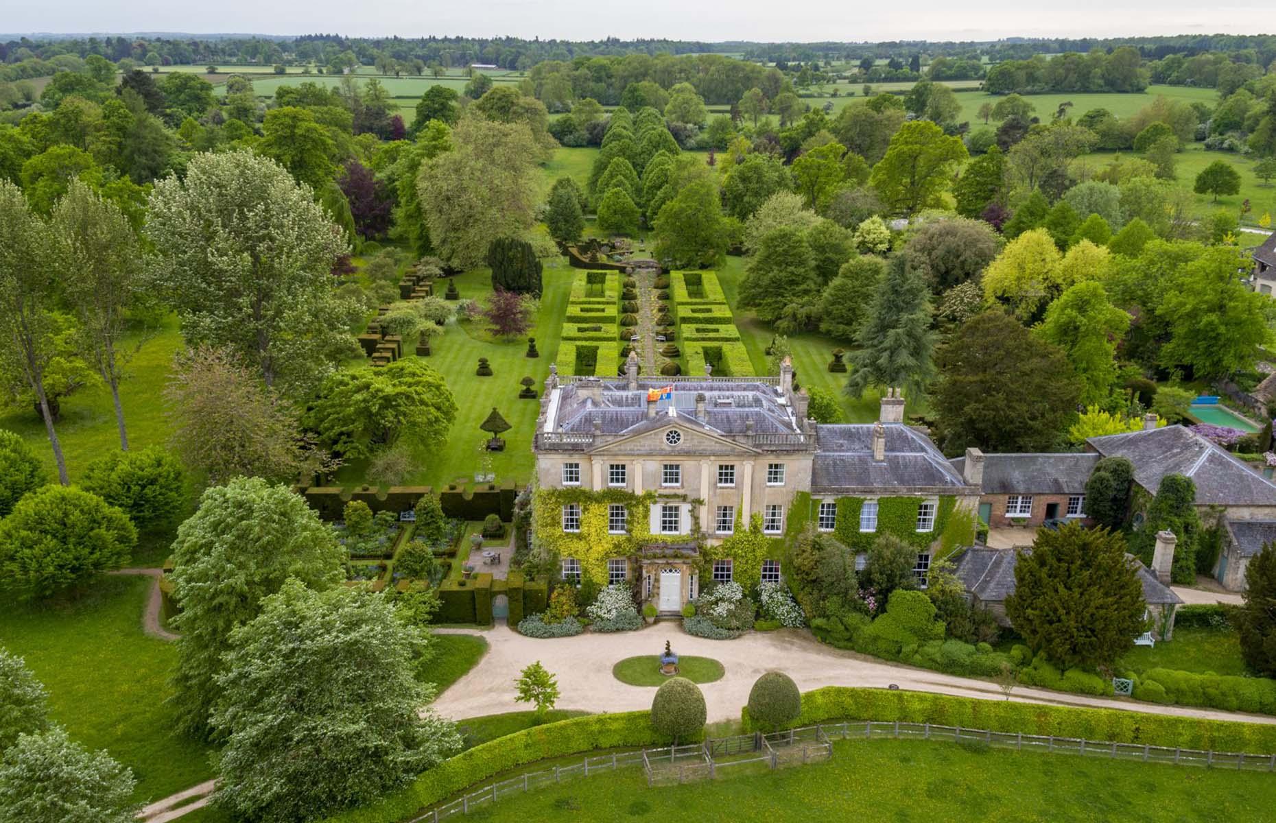 Highgrove House and the Royal Gardens