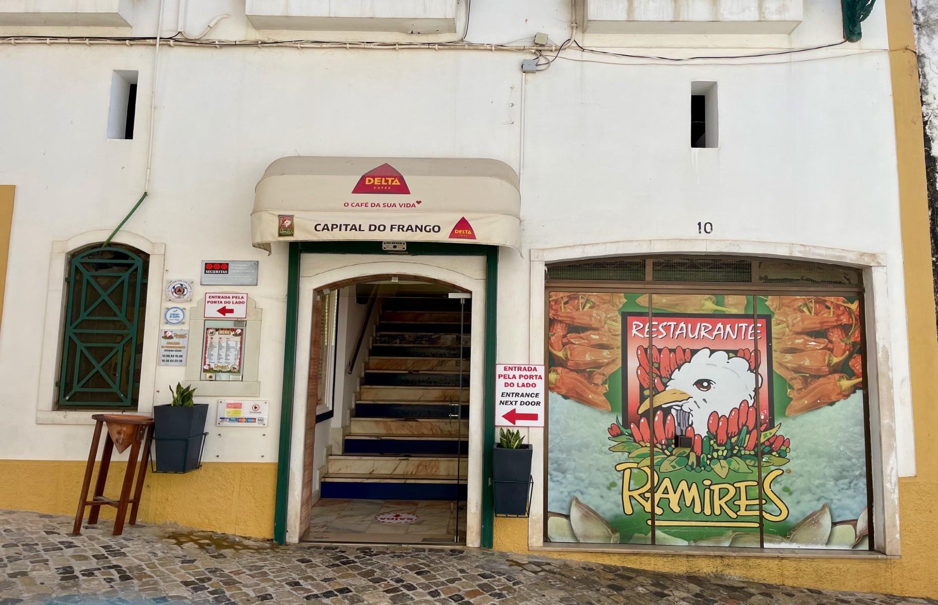 Ramires chicken restaurant (Image: Antonia Windsor)