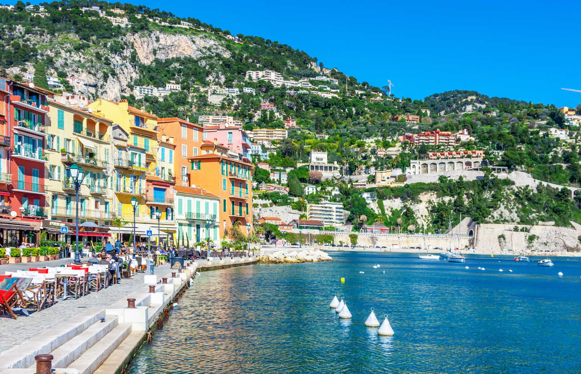 Waterfront in Nice, France (Image: kerenby/Shutterstock)
