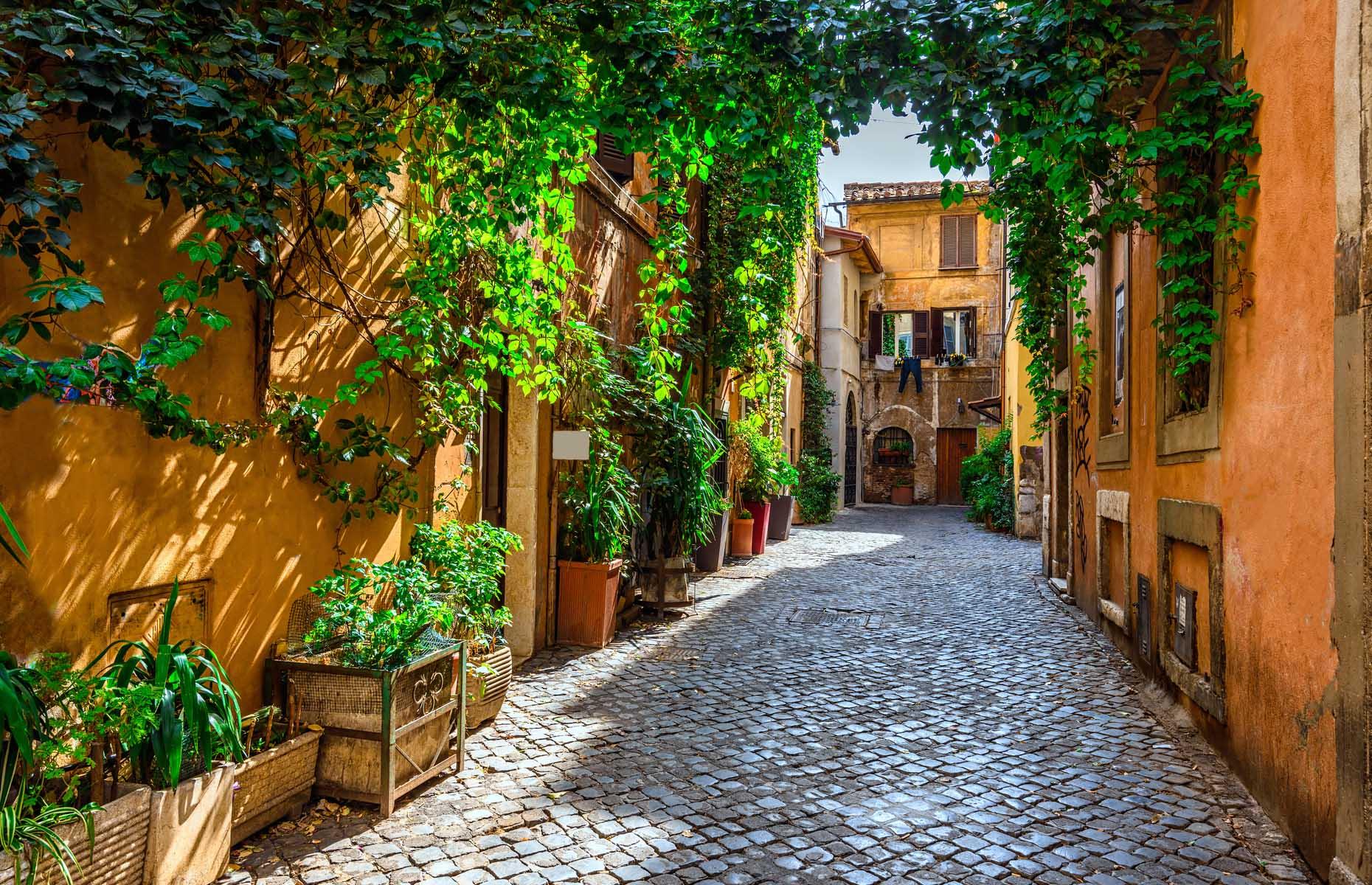 A street in Trastevere, Rome (Image: Catarina Belova/Shutterstock)