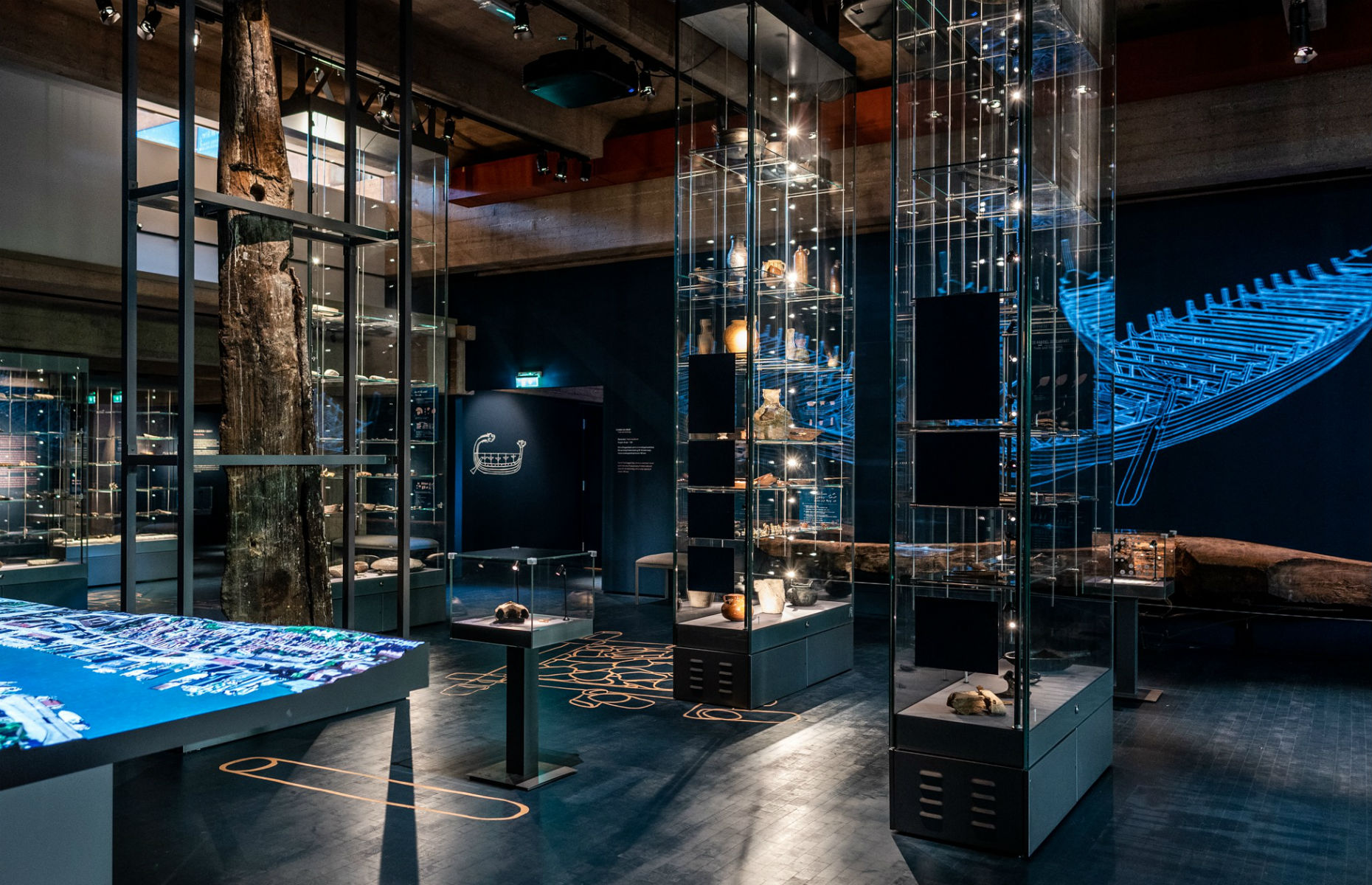 Exhibition in Bryggens museum complex (Image: Bymuseet i Bergen/Facebook)