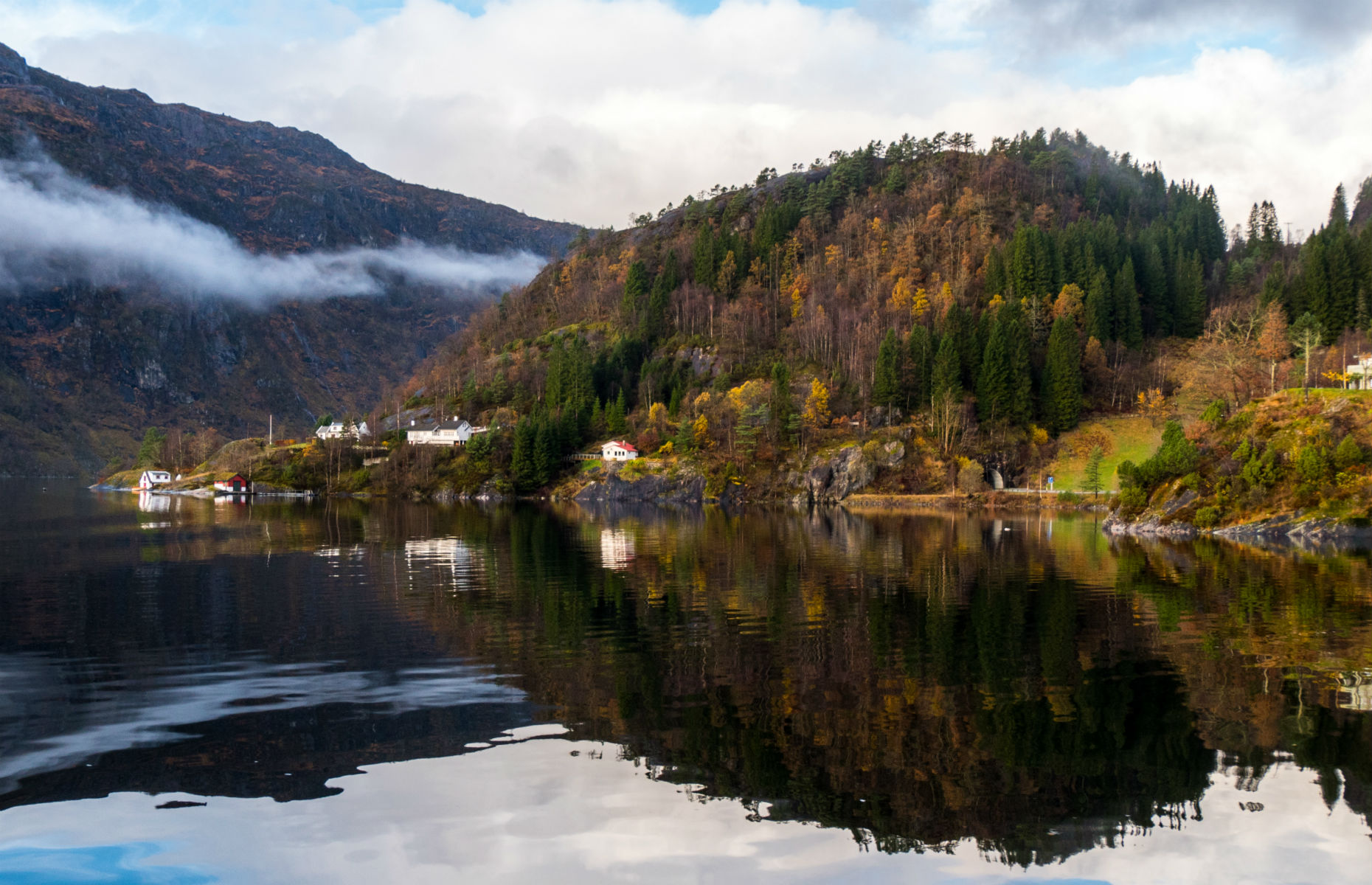 Stunning view of the Norwegian fjords within Bergen (Image: Select Stock/Shutterstock)