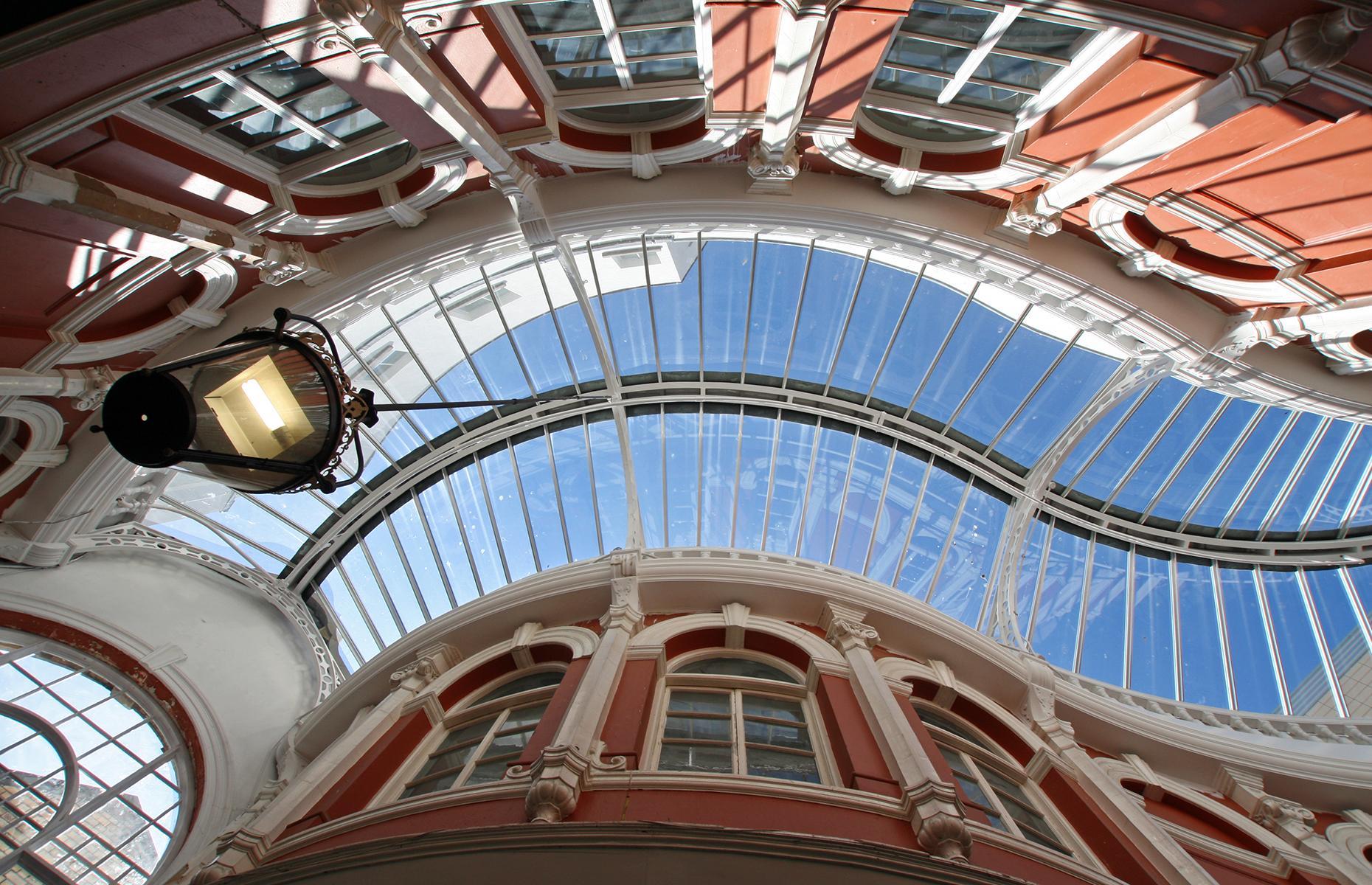 Cardiff shopping arcades
