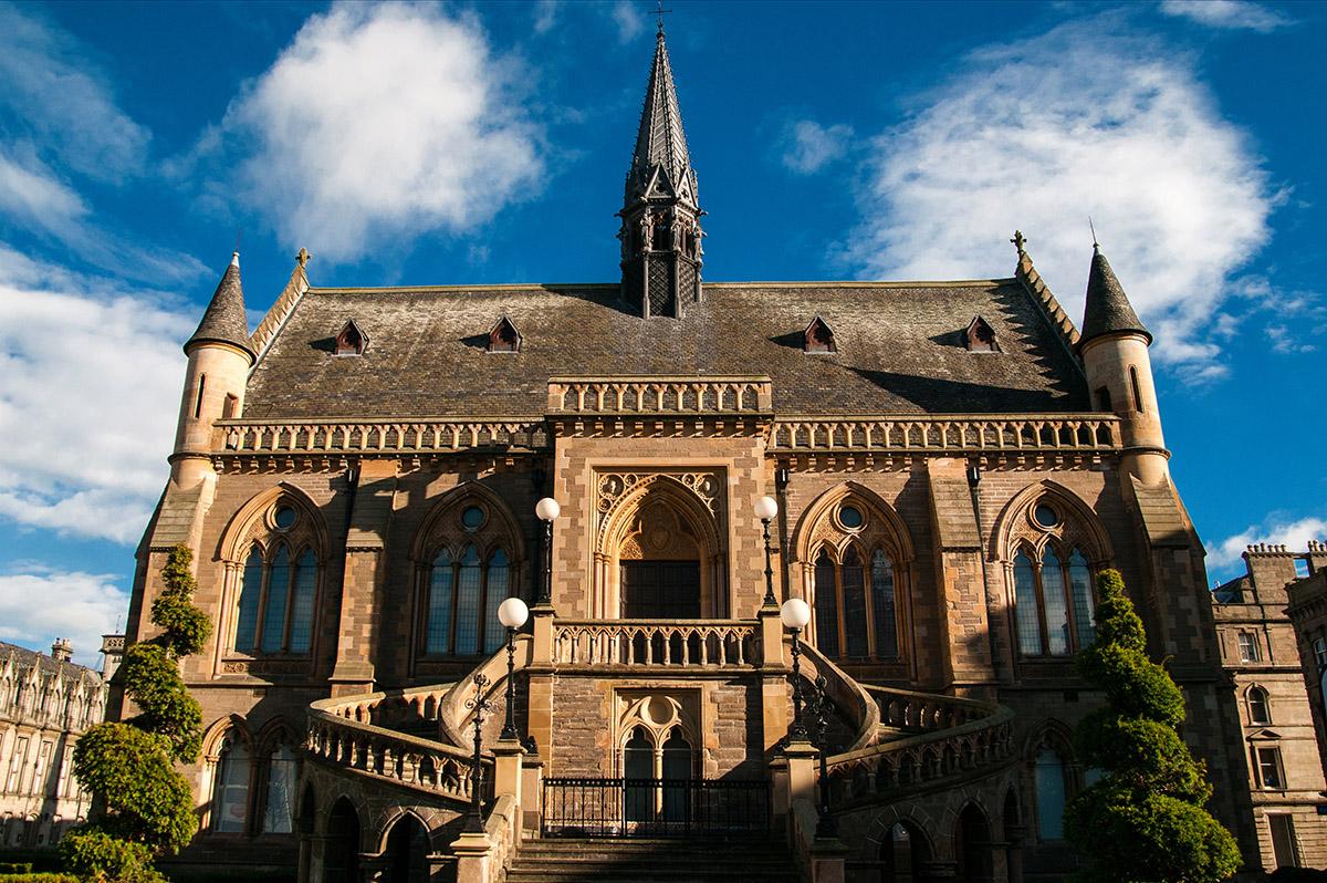 Dundee, Macmanus gallery, Scotland