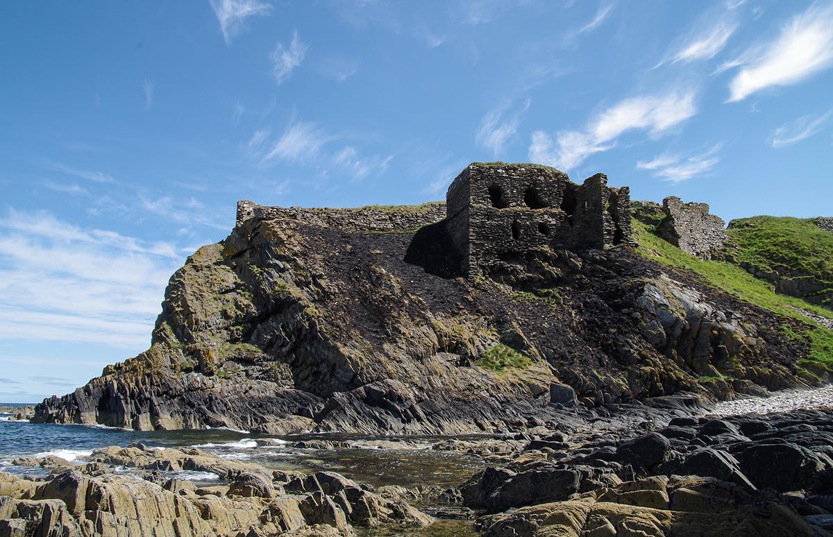 Findlater Castle, Banffshire Coast