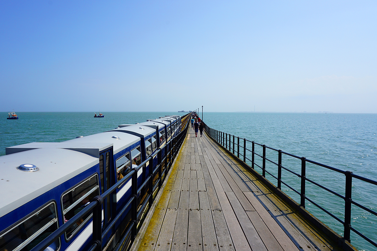 Things to do in Southend on Sea: pier train