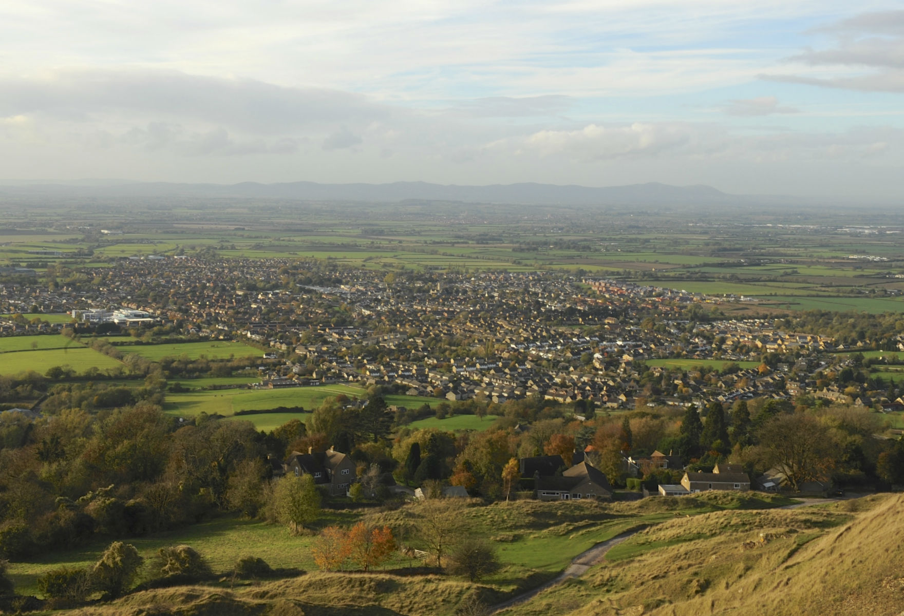 View from Cleeve Hill (credit: Peter Turner Photography/Shutterstock)