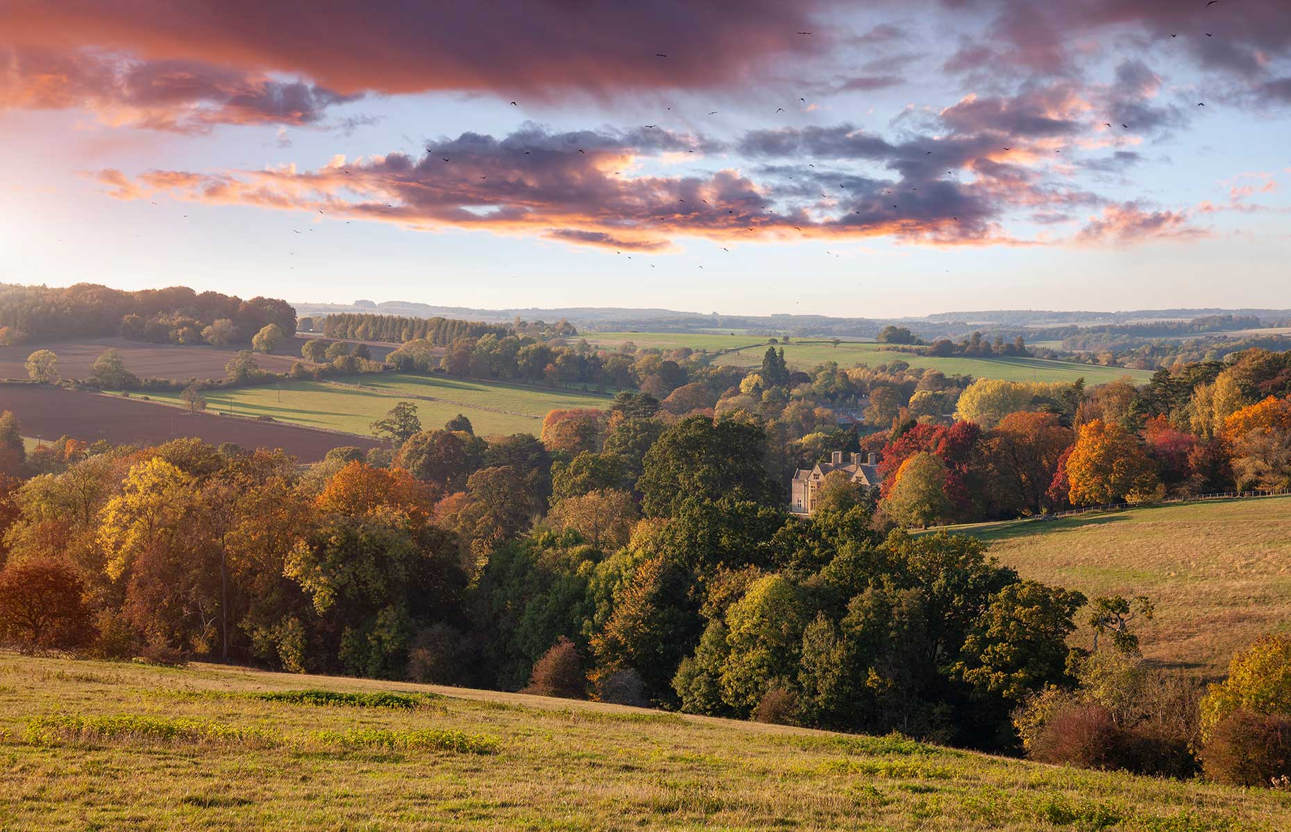 View from Stow on the Wold (Image: Andrew Roland/Shutterstock)