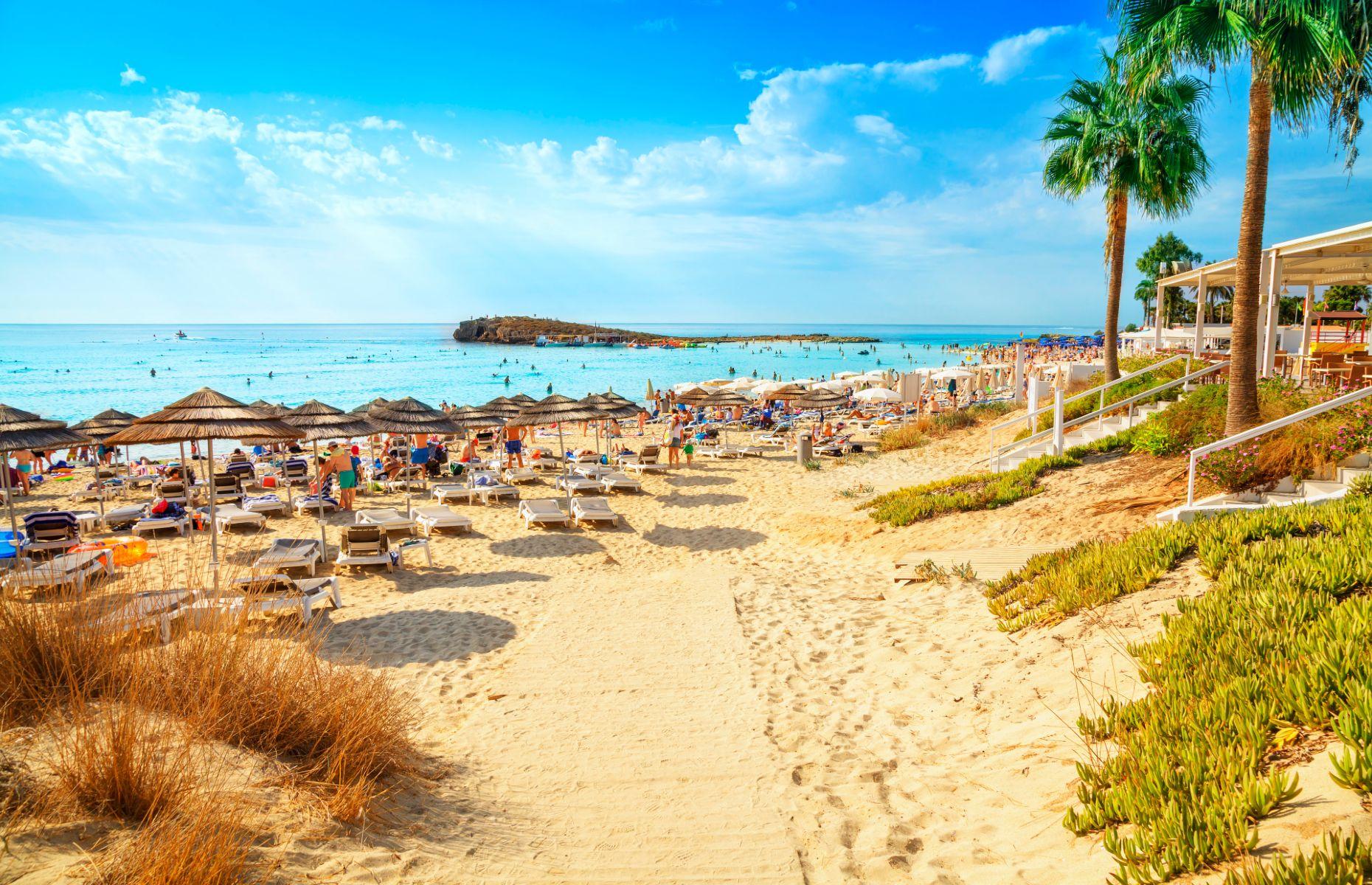 Ayia Napa coastline in Cyprus (Image: Vladimir Sazonov/Shutterstock)