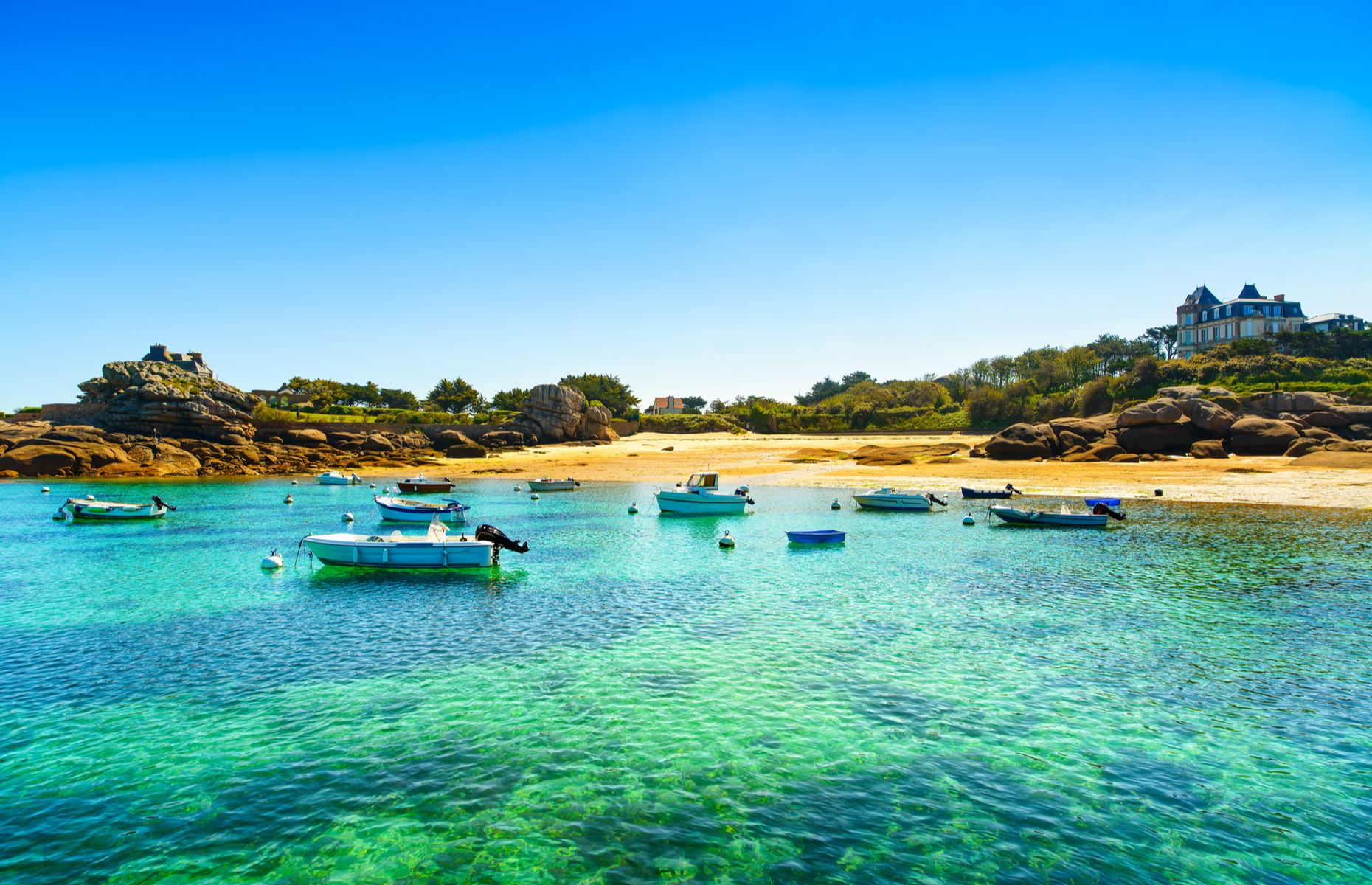 Fishing village in Brittany (Image: StevanZZ/Shutterstock)