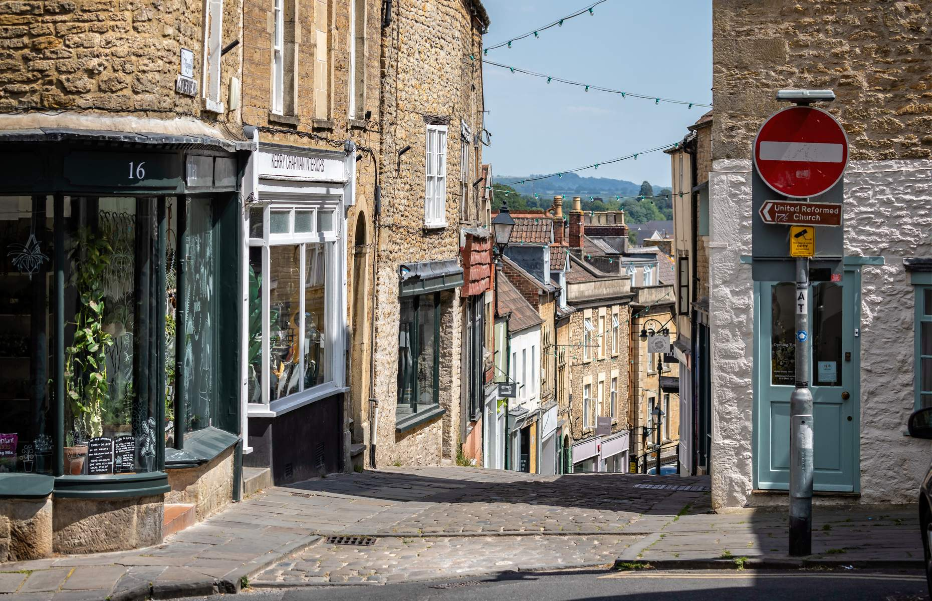 Catherine Hill in Frome (Image: Nigel Jarvis/Shutterstock)