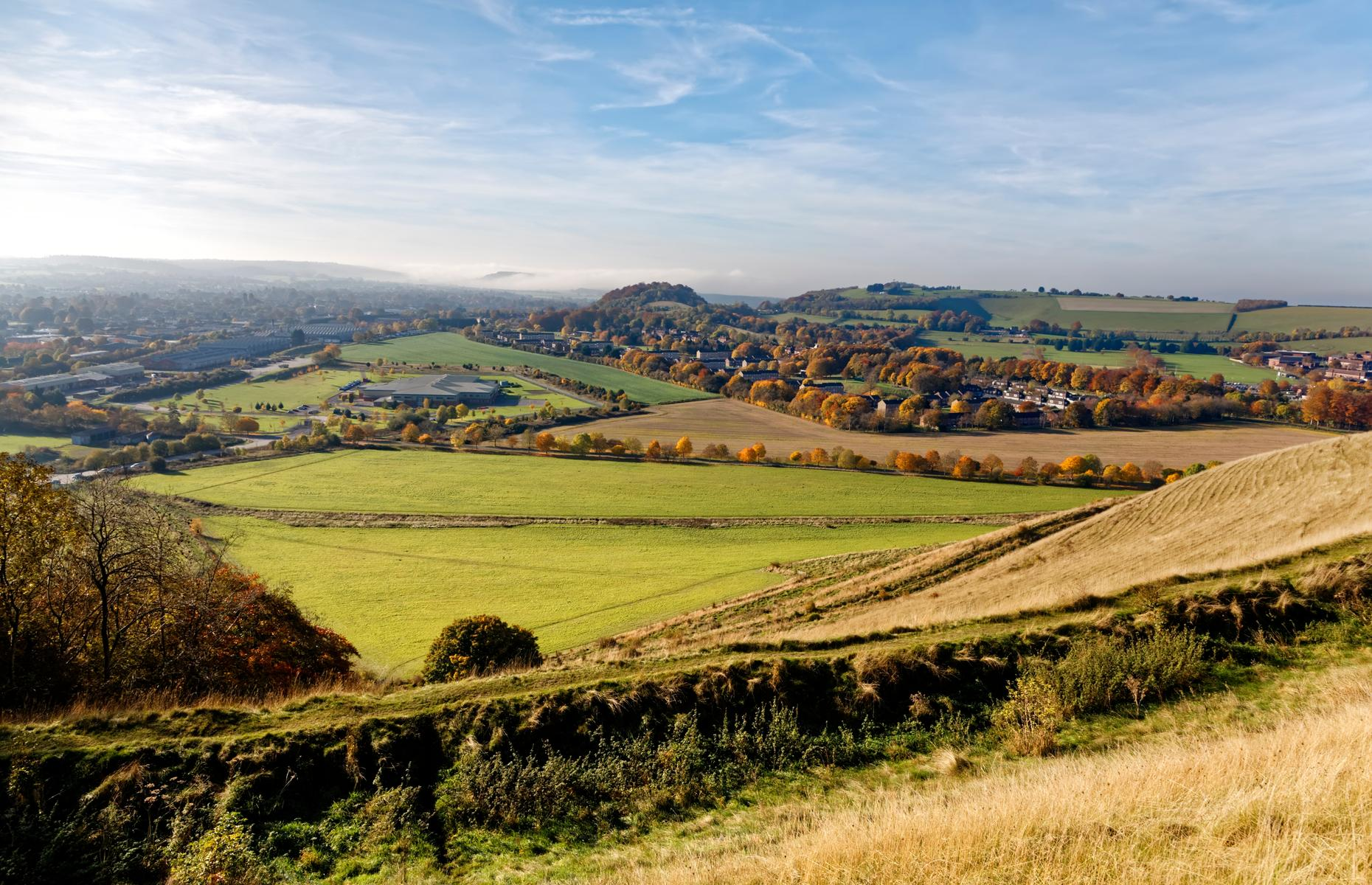 Cley Hill in Somerset (Image: Andrew Harker/Shutterstock)