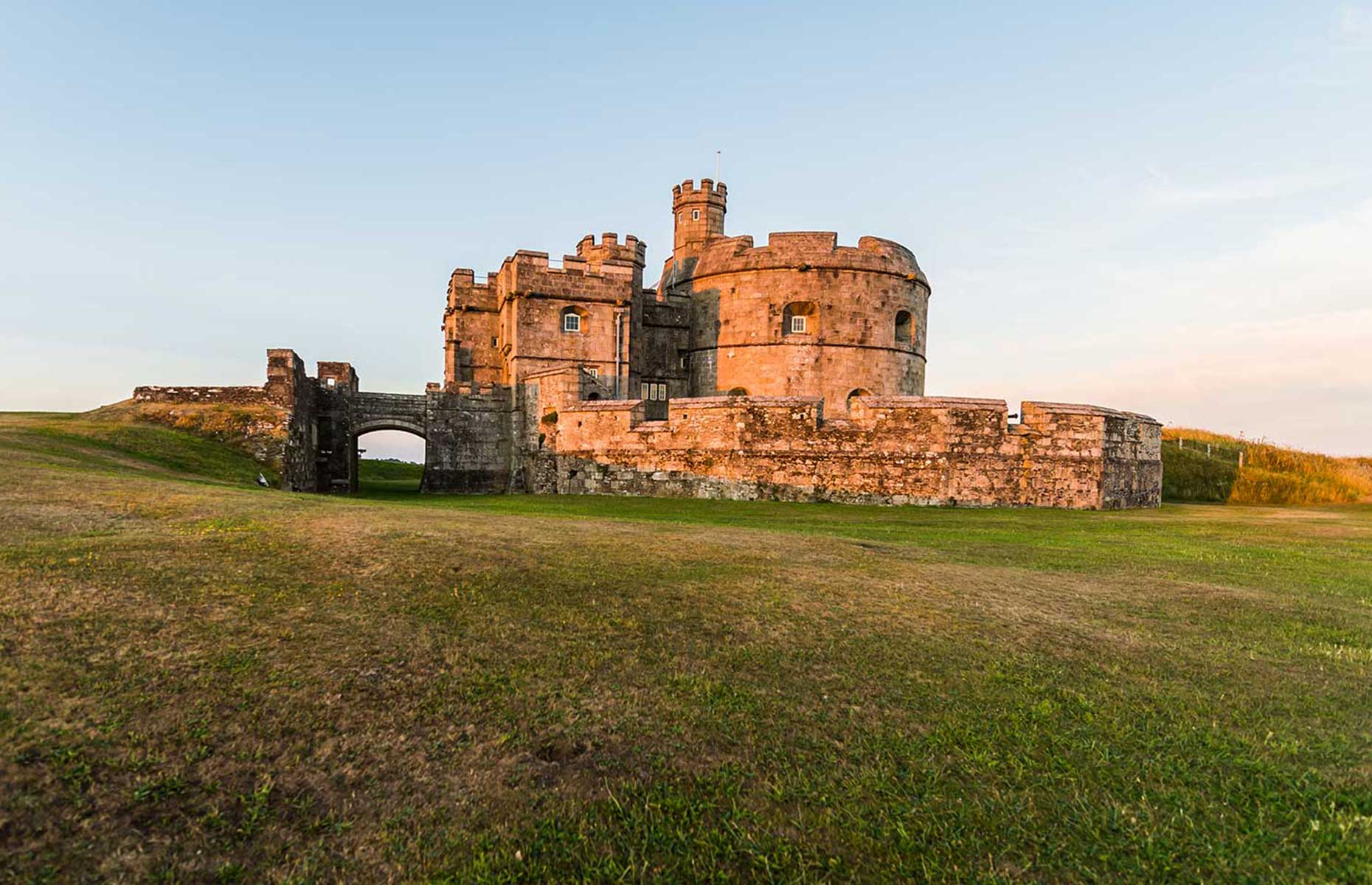 Pendennis Castle, near Falmouth, Cornwall