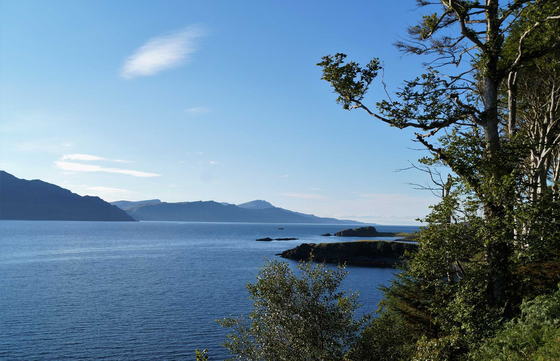 The Isle of Raasy, Scotland, is an off the beaten track place if you want to experience distilleries too