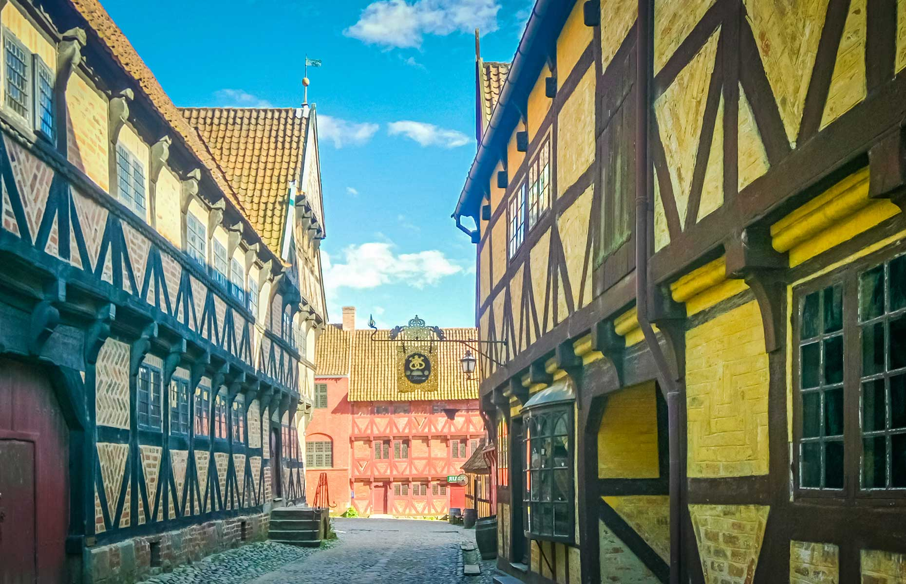 Den Gamle By showcases Medieval Scandi streets