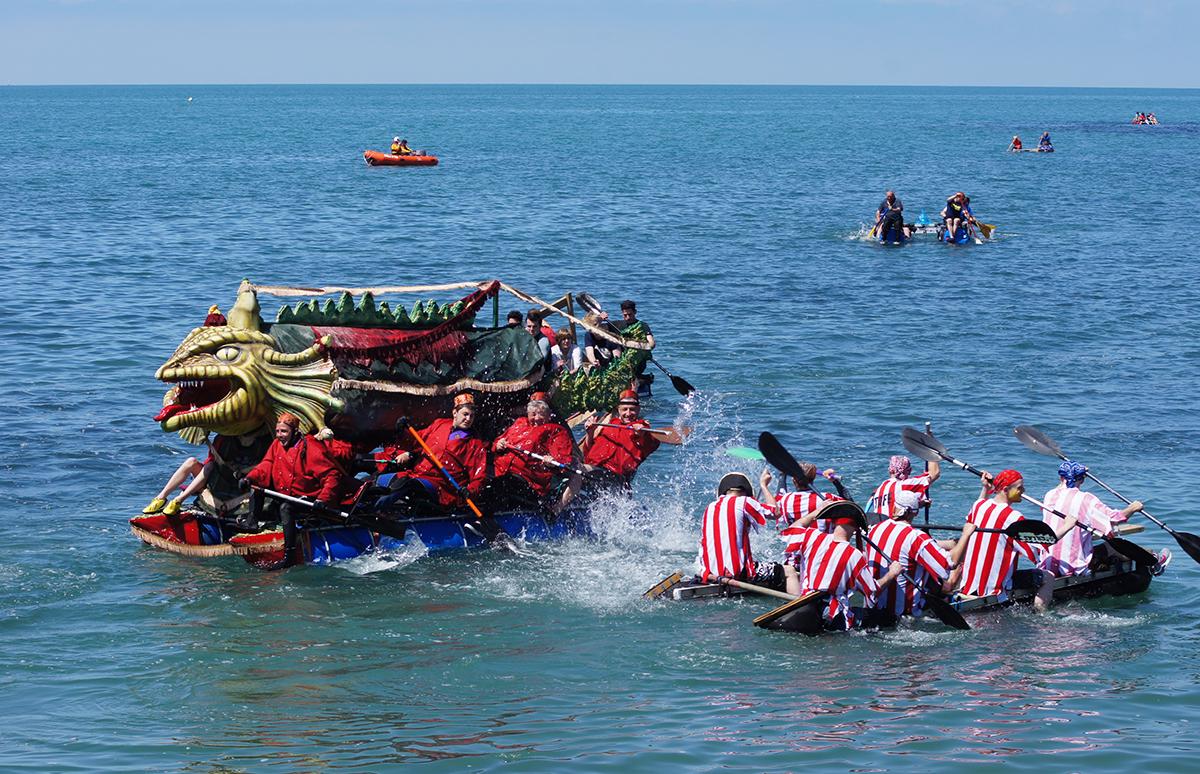 Aberystwyth raft race