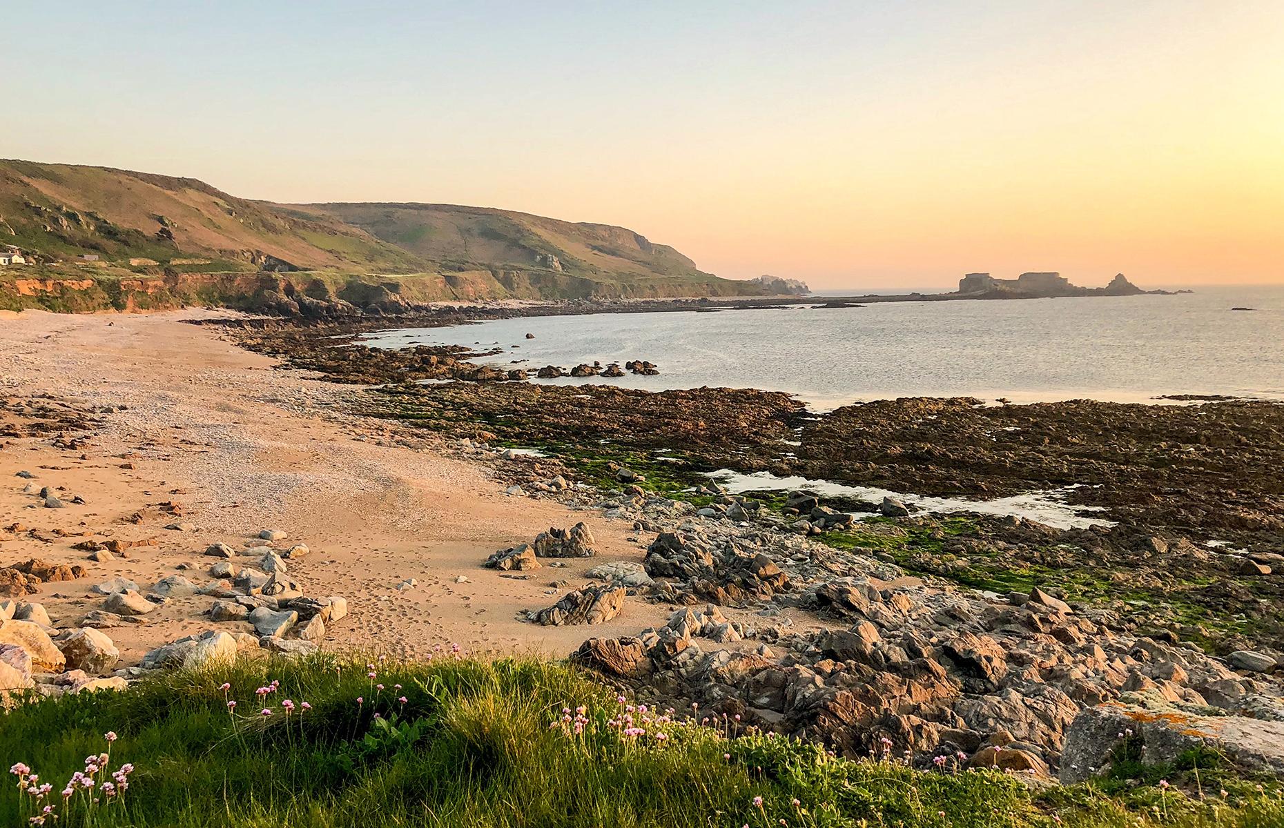 Alderney coast