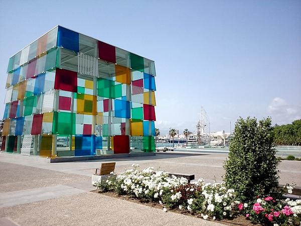 Pompidou, Malaga
