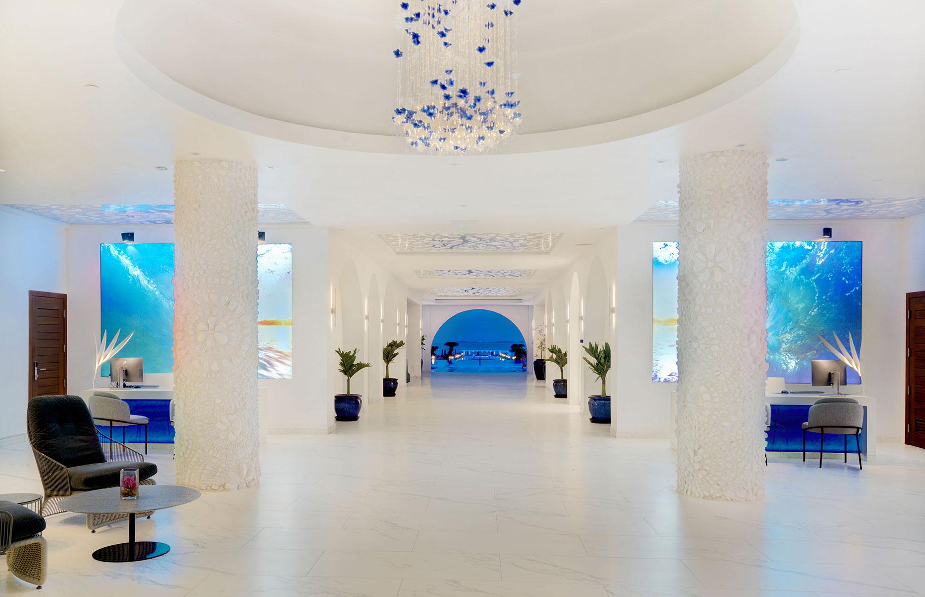Lobby of CuisinArt Golf Resort & Spa