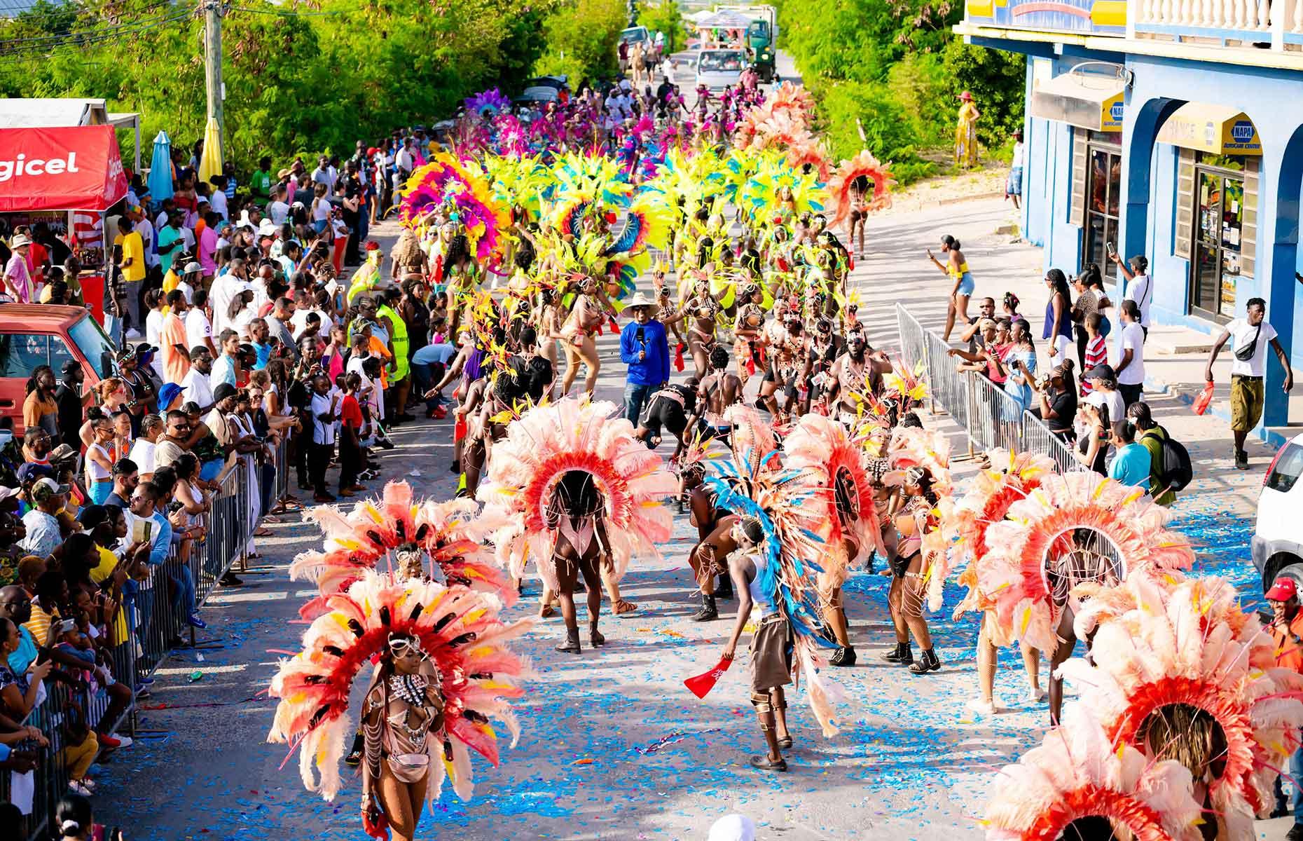 J'Ouvert, Summer Festival, Anguilla