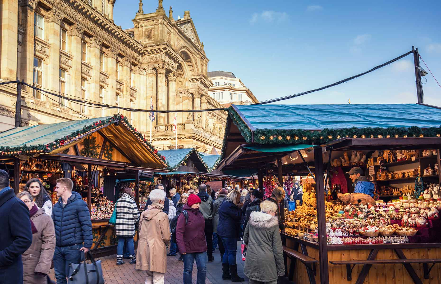 Birmingham Christmas market is the largest Continental market outside Austria and Germany