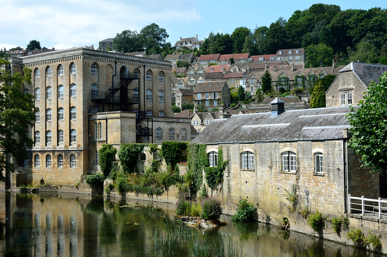 Bradford on Avon river