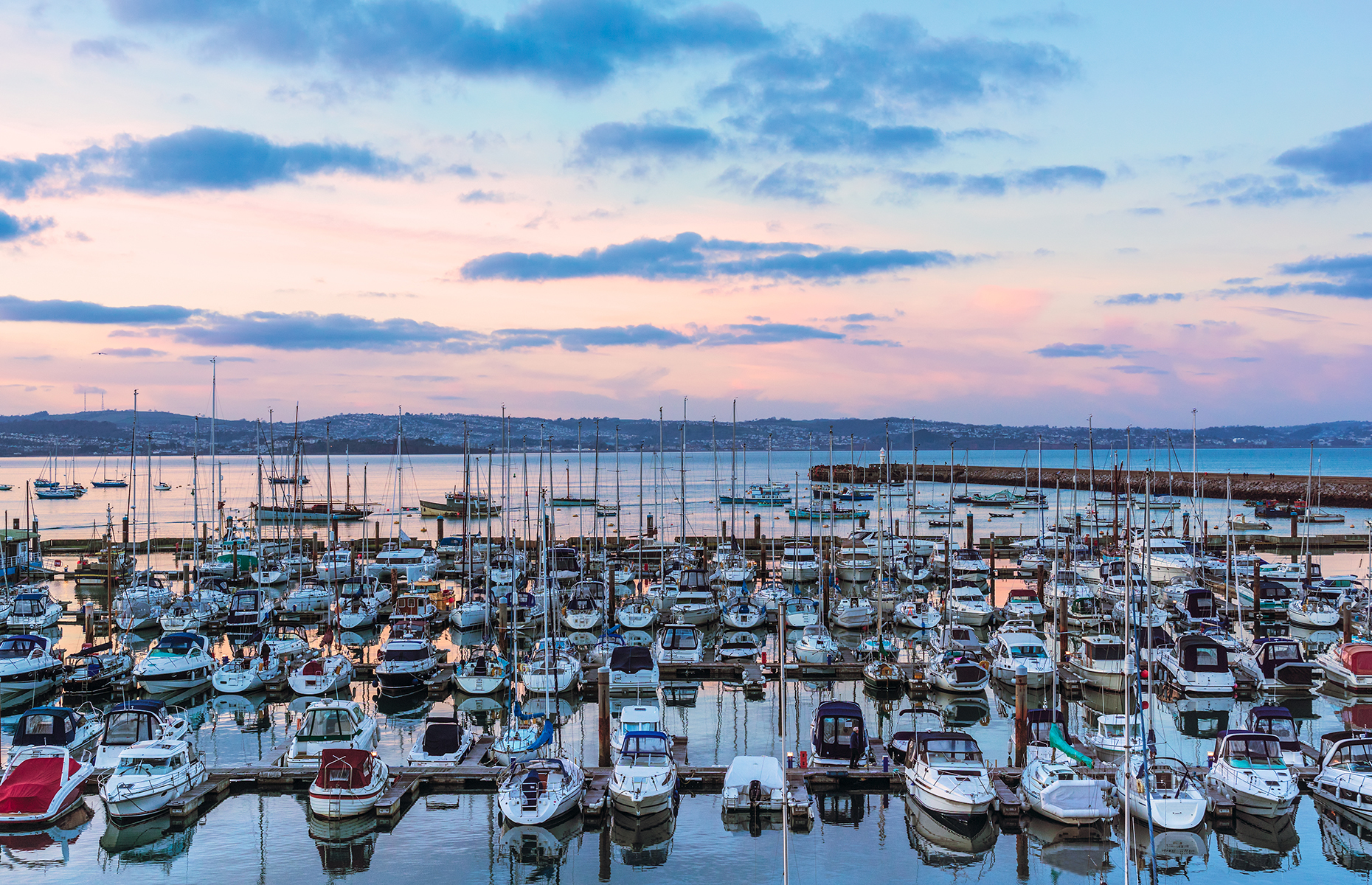 Brixham at dusk