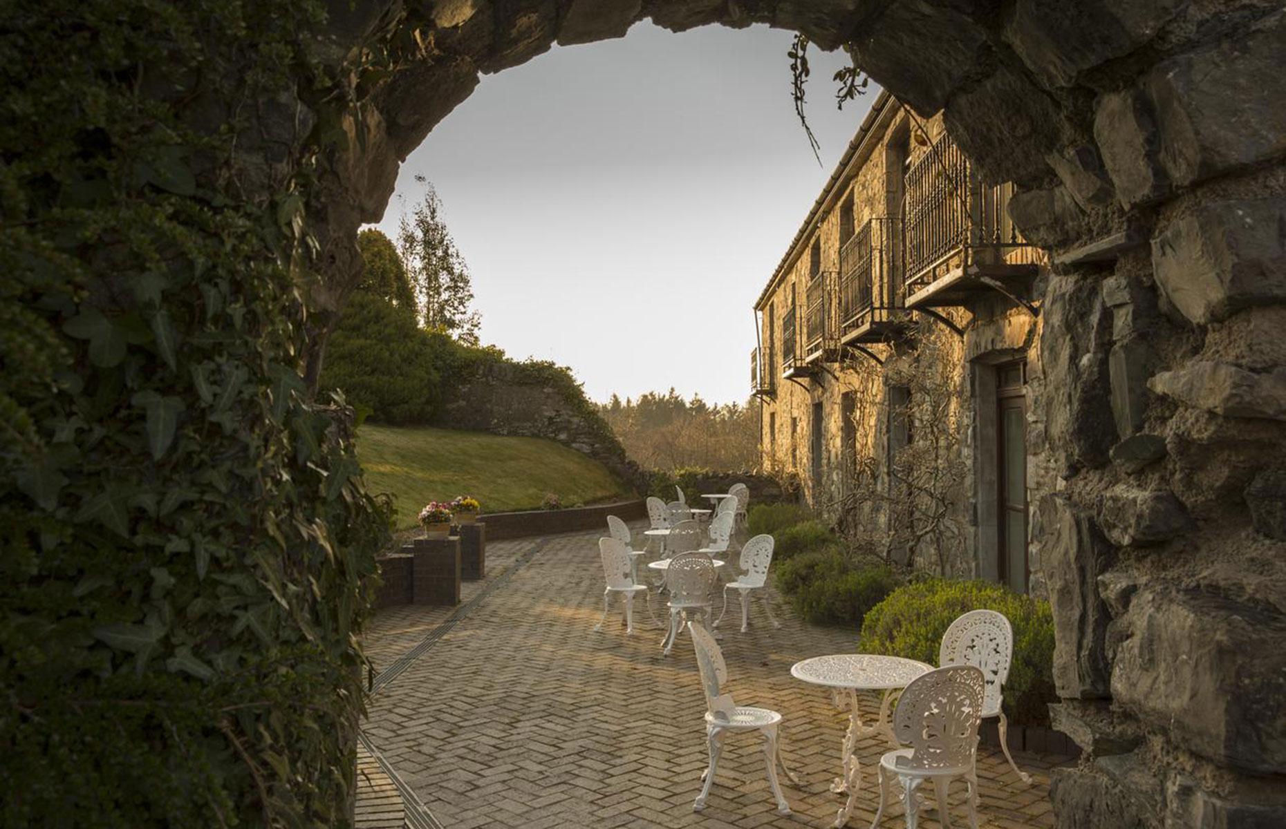 Seiont Manor, exterior near Caernarfon, Wales