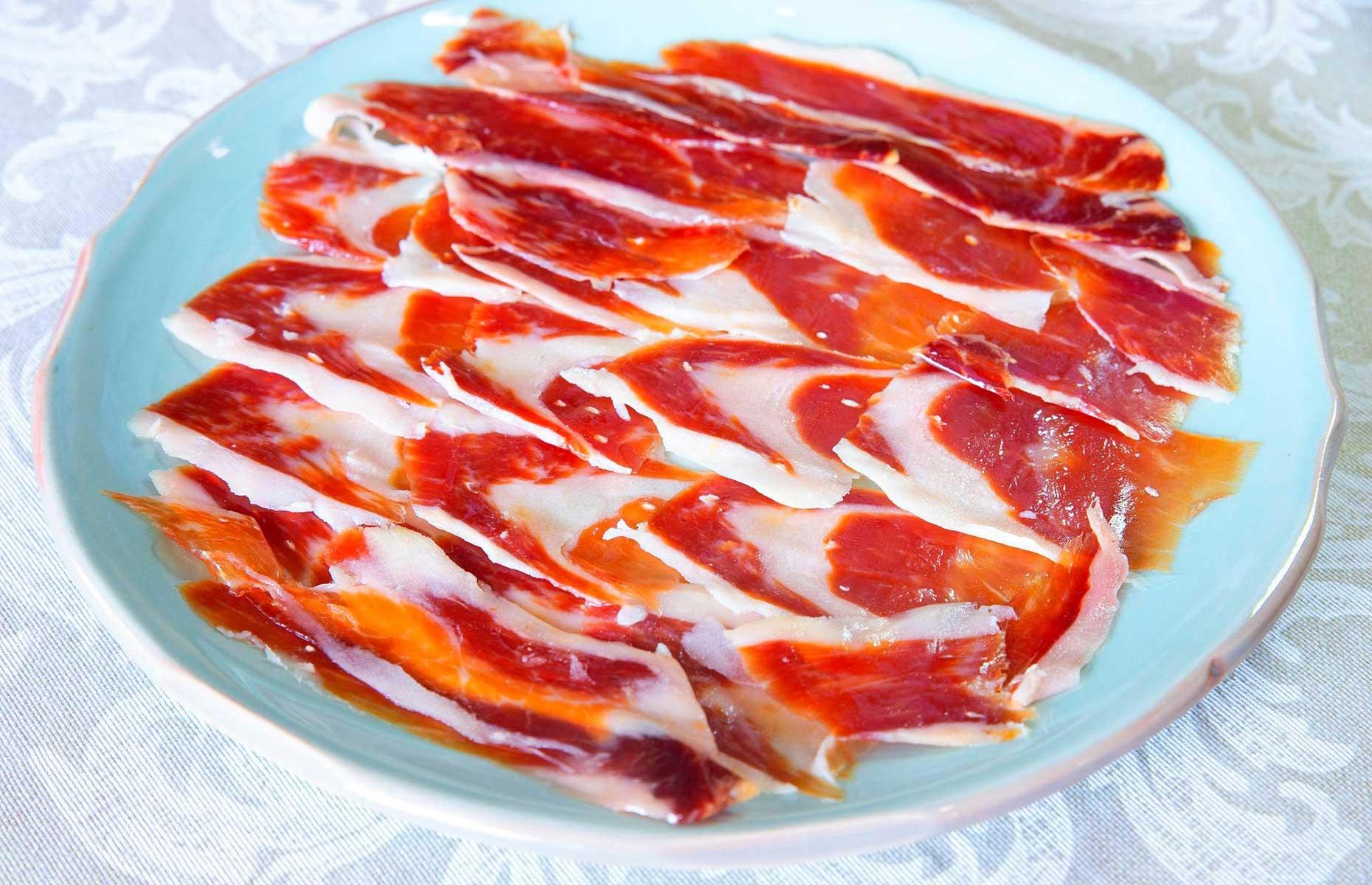 Jamón bellota at Bodegas Mezquita (Image: Bodegas Mezquita/Facebook)