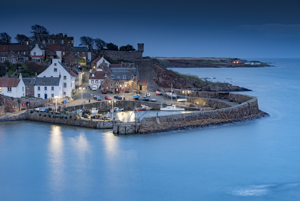 Crail at Blue Hour